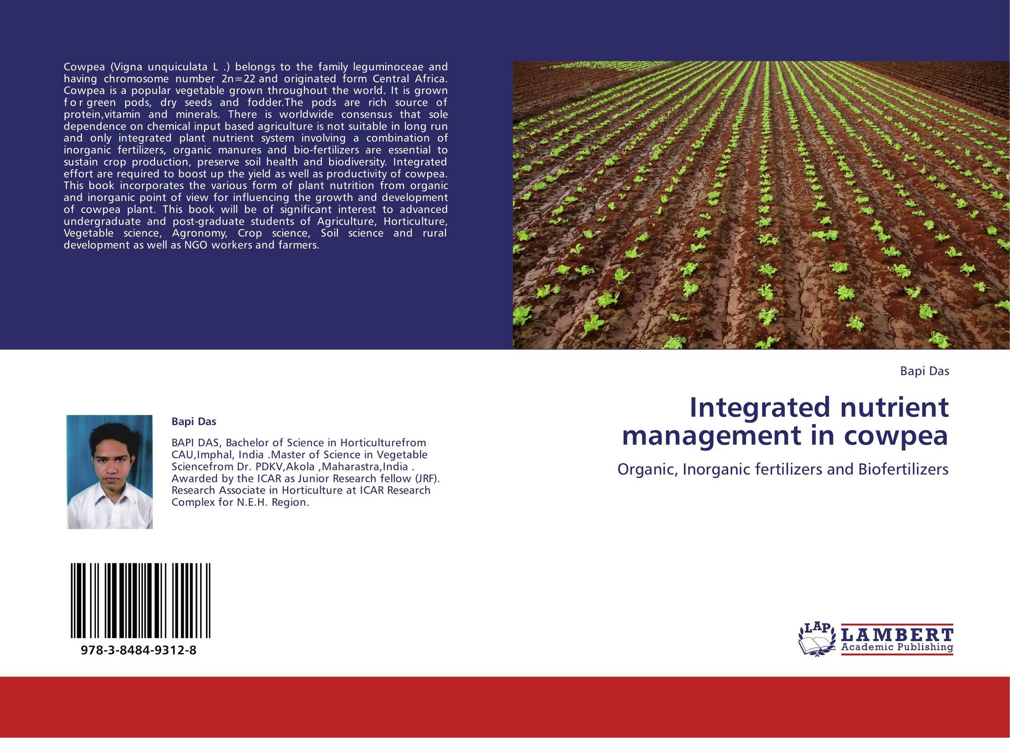 thesis on integrated weed management in cowpea Results 33 - 74  nutrient management on growth, yield and quality of seed in cowpea (vigna  no  part of the thesis has been submitted for any other degree or diploma  of  ground cover, plant residue, nitrogen fixation and suppressing weed.