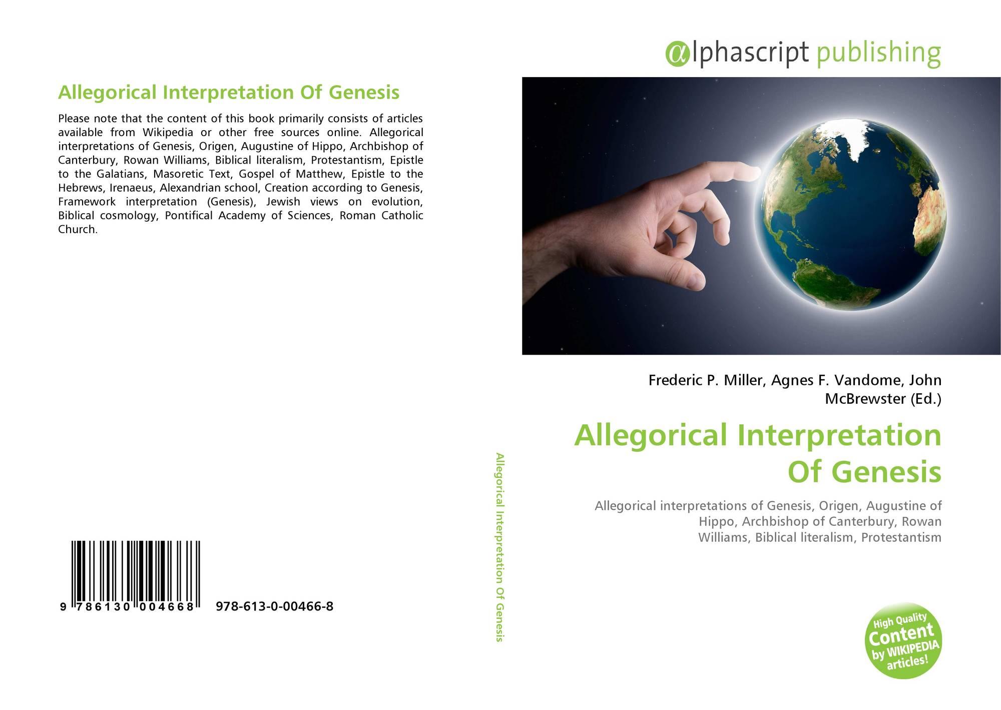 allegorical interpretation of the bible pdf