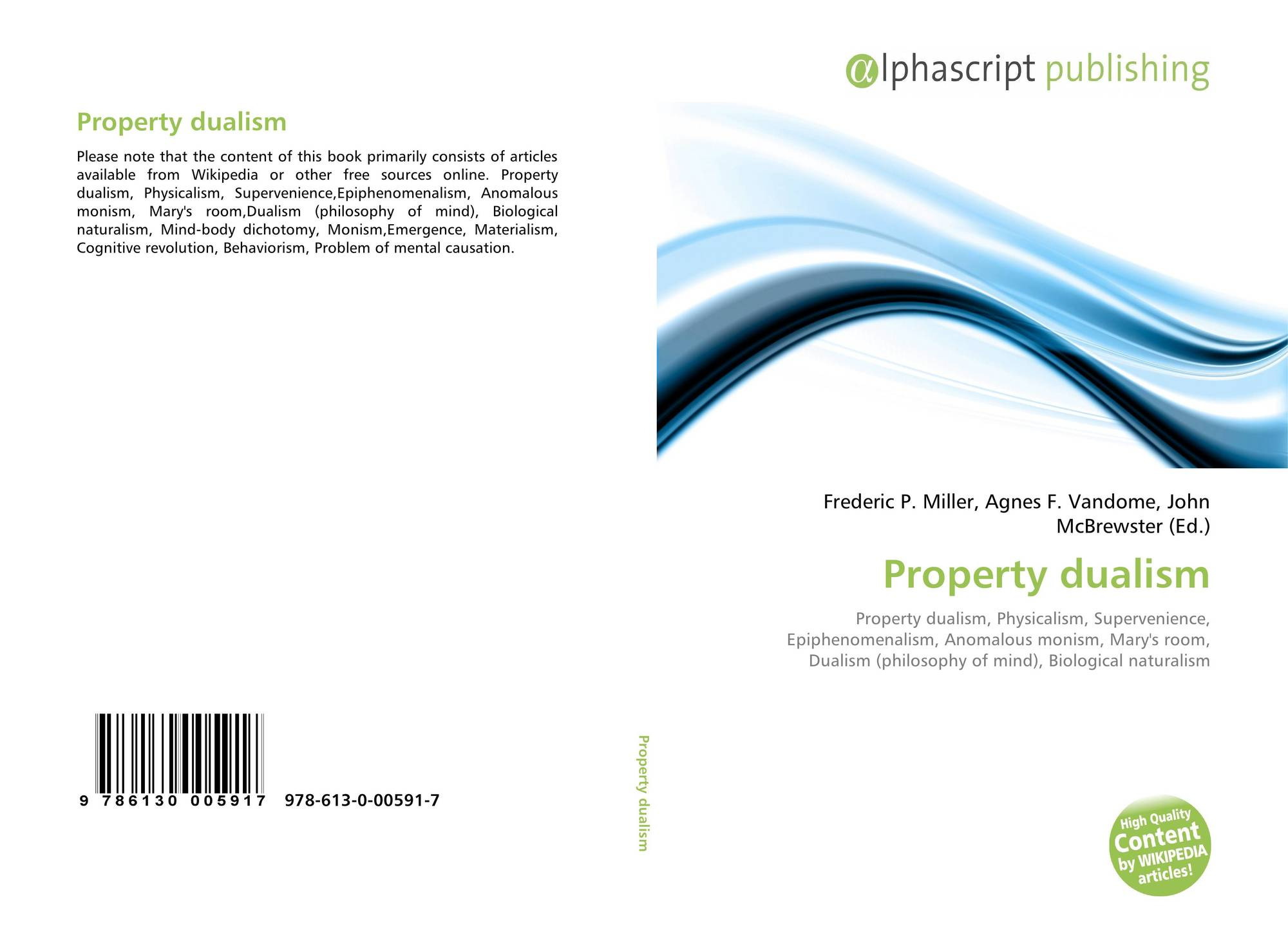 essays dualism property dualism A collection of short essays home  philosophical essays  dualism – descarte philosophy of the mind substance dualism and property dualism.