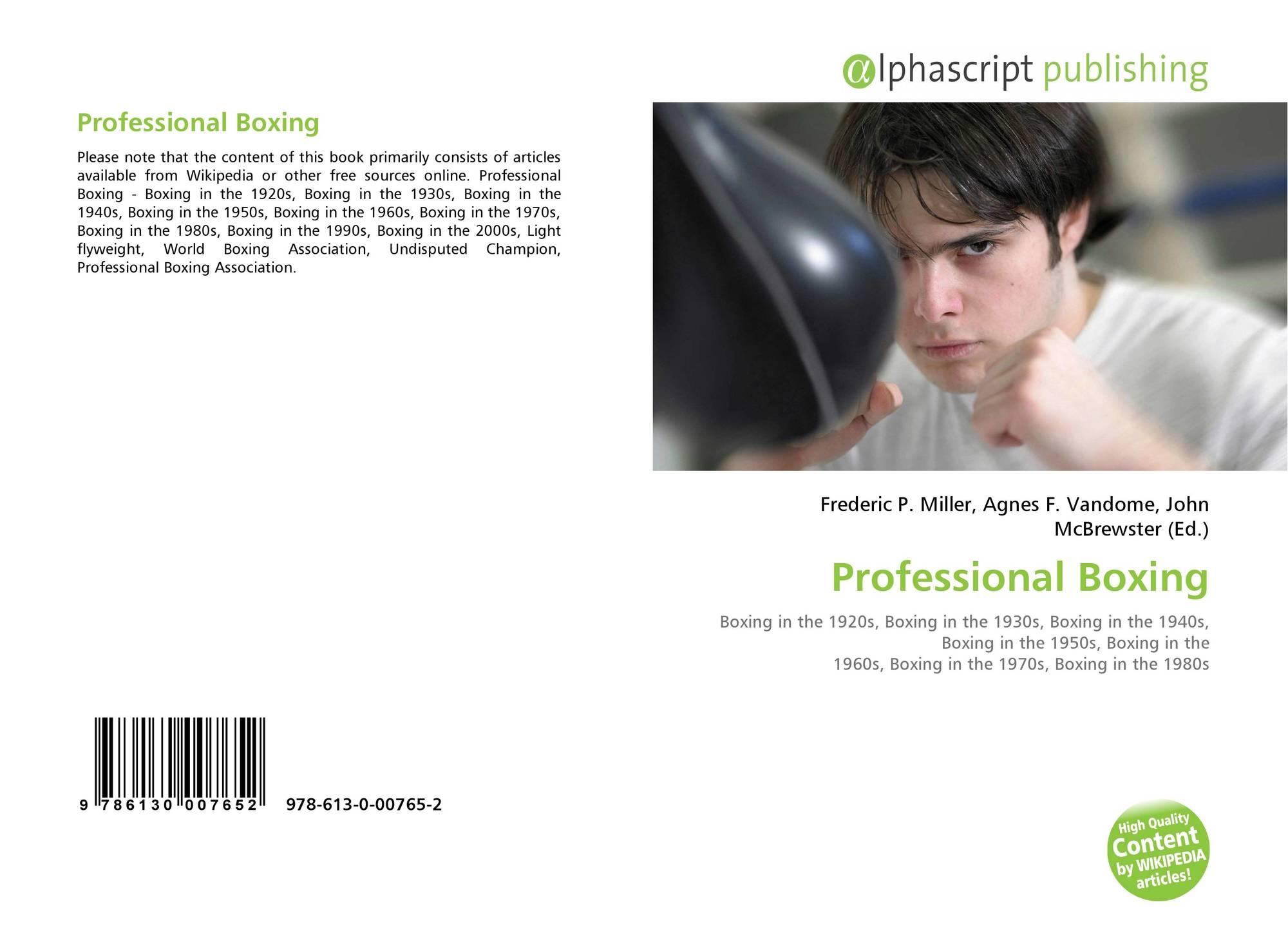 Professional Boxing, 978-613-0-00765-2, 6130007655 ,9786130007652
