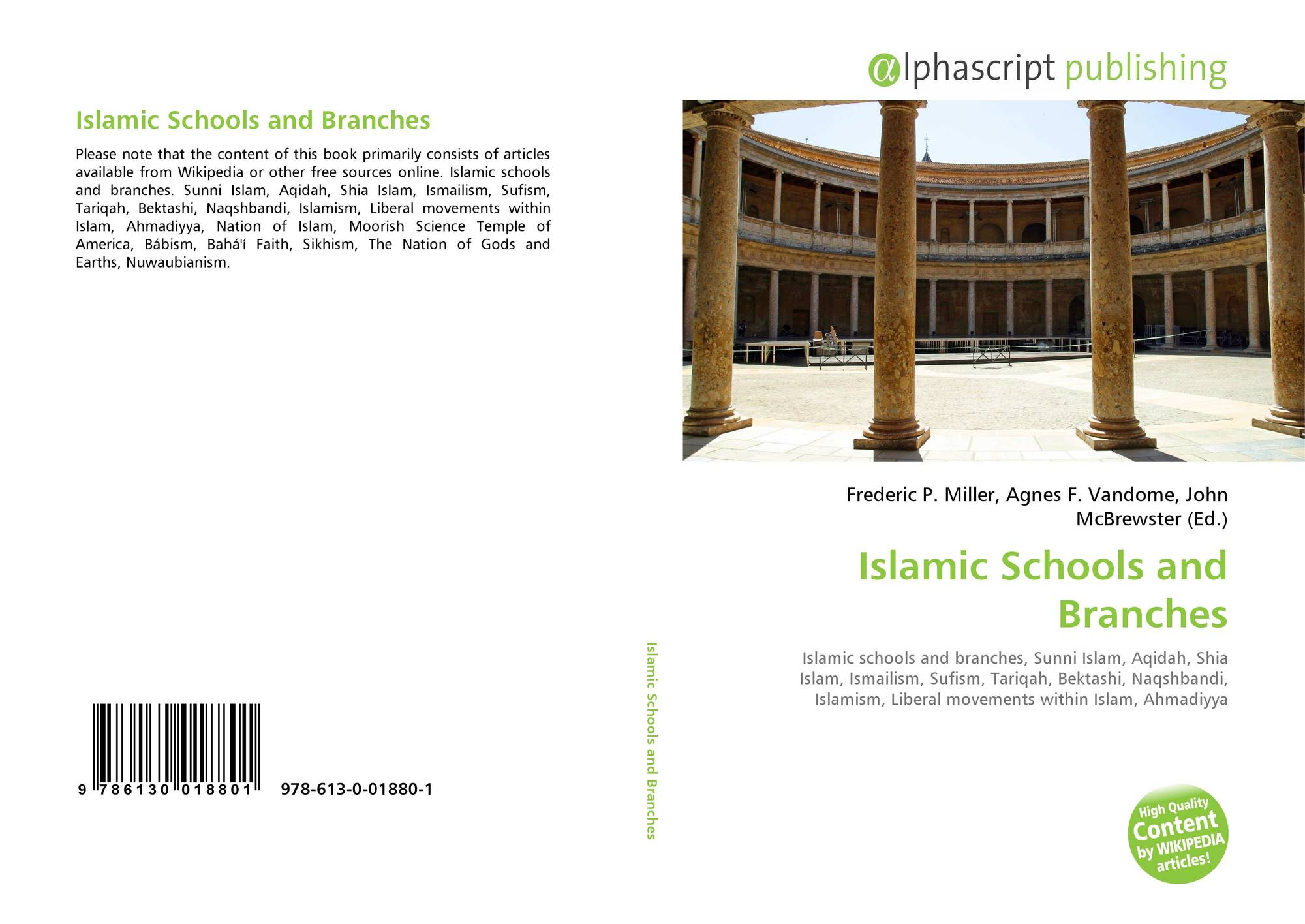 Islamic Schools and Branches, 978-613-0-01880-1, 6130018800