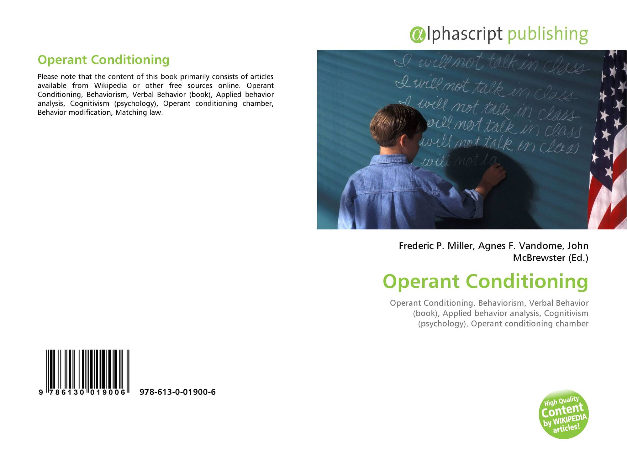 operant conditioning articles