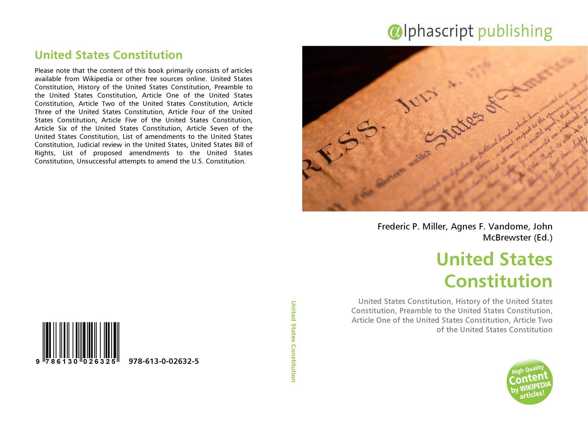 business united states constitution and exclusive