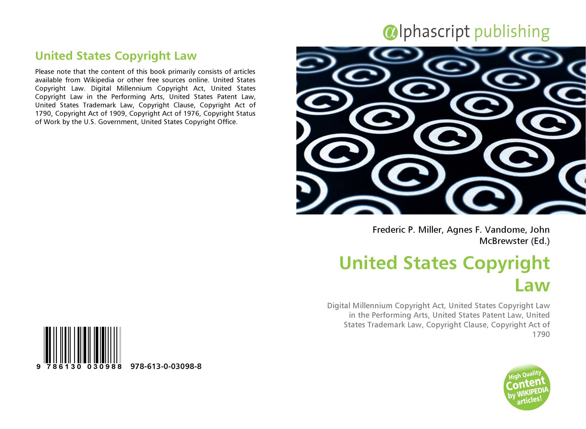 the united states copyright