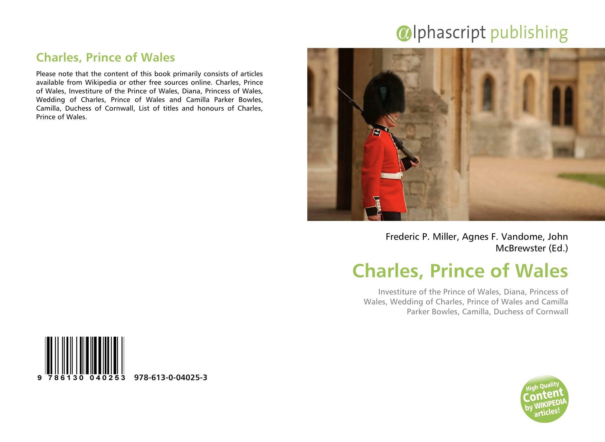 Charles, Prince of Wales, 978-613-0-04025-3, 6130040253 ,9786130040253
