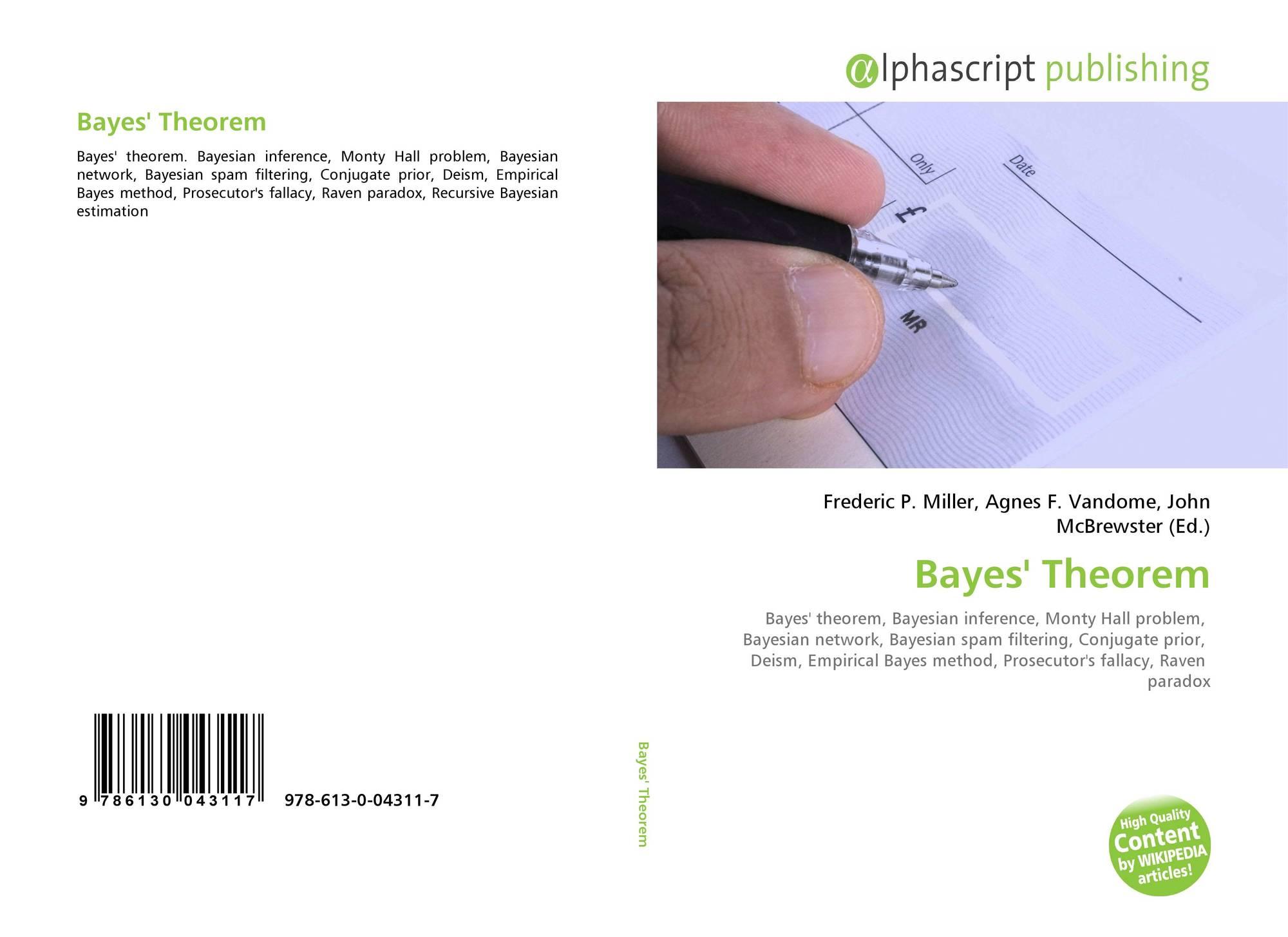 Bayes' Theorem, 978-613-0-04311-7, 6130043112 ,9786130043117