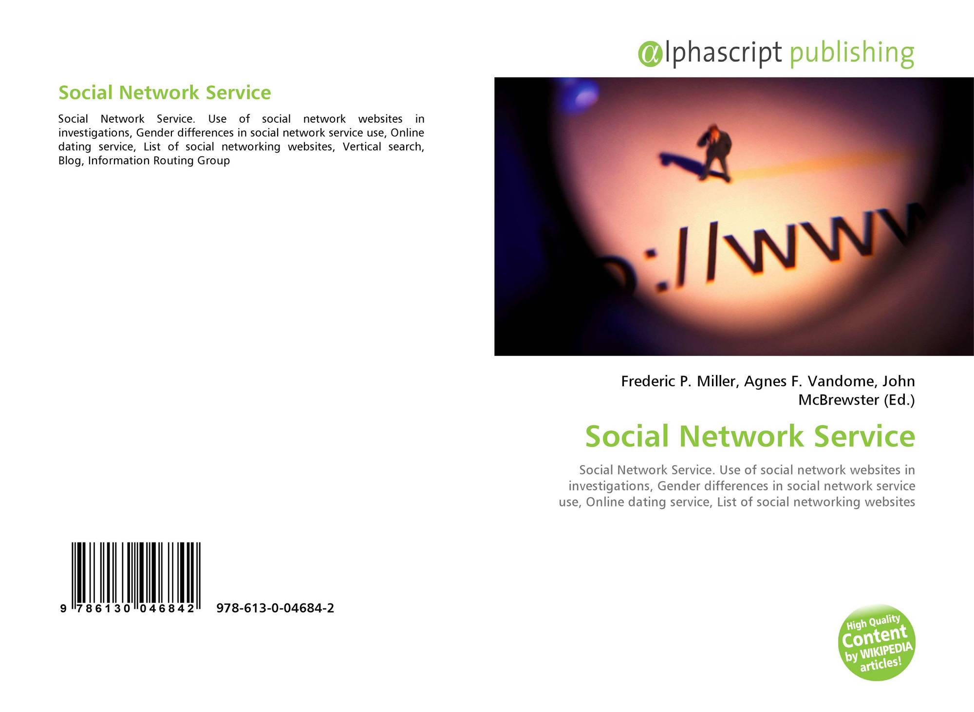 Bookcover of Social Network Service