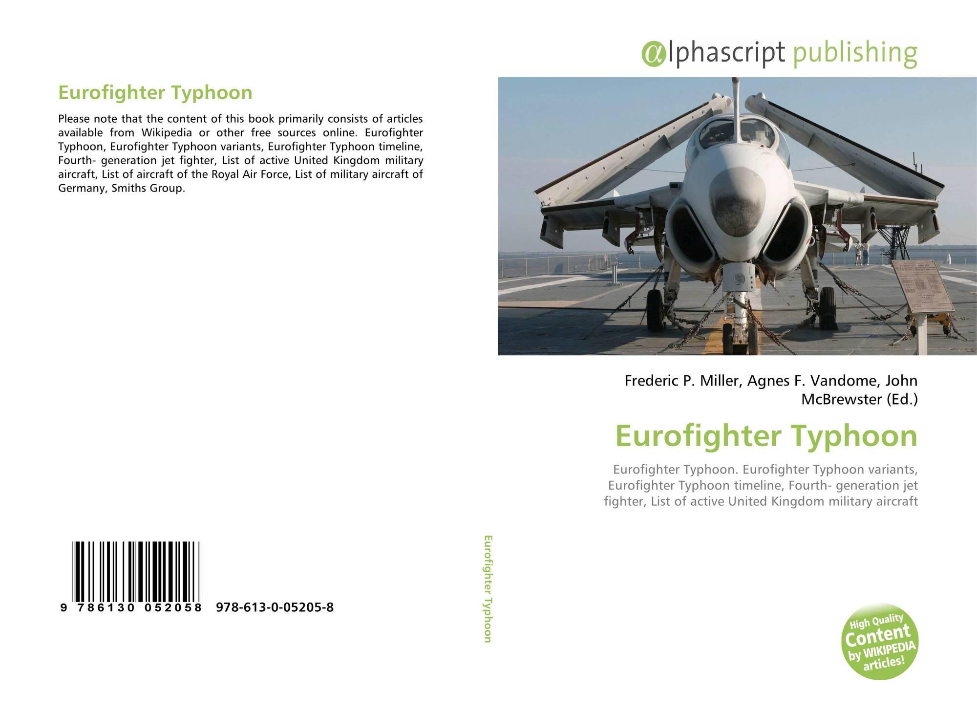 Eurofighter Typhoon, 978-613-0-05205-8, 6130052057
