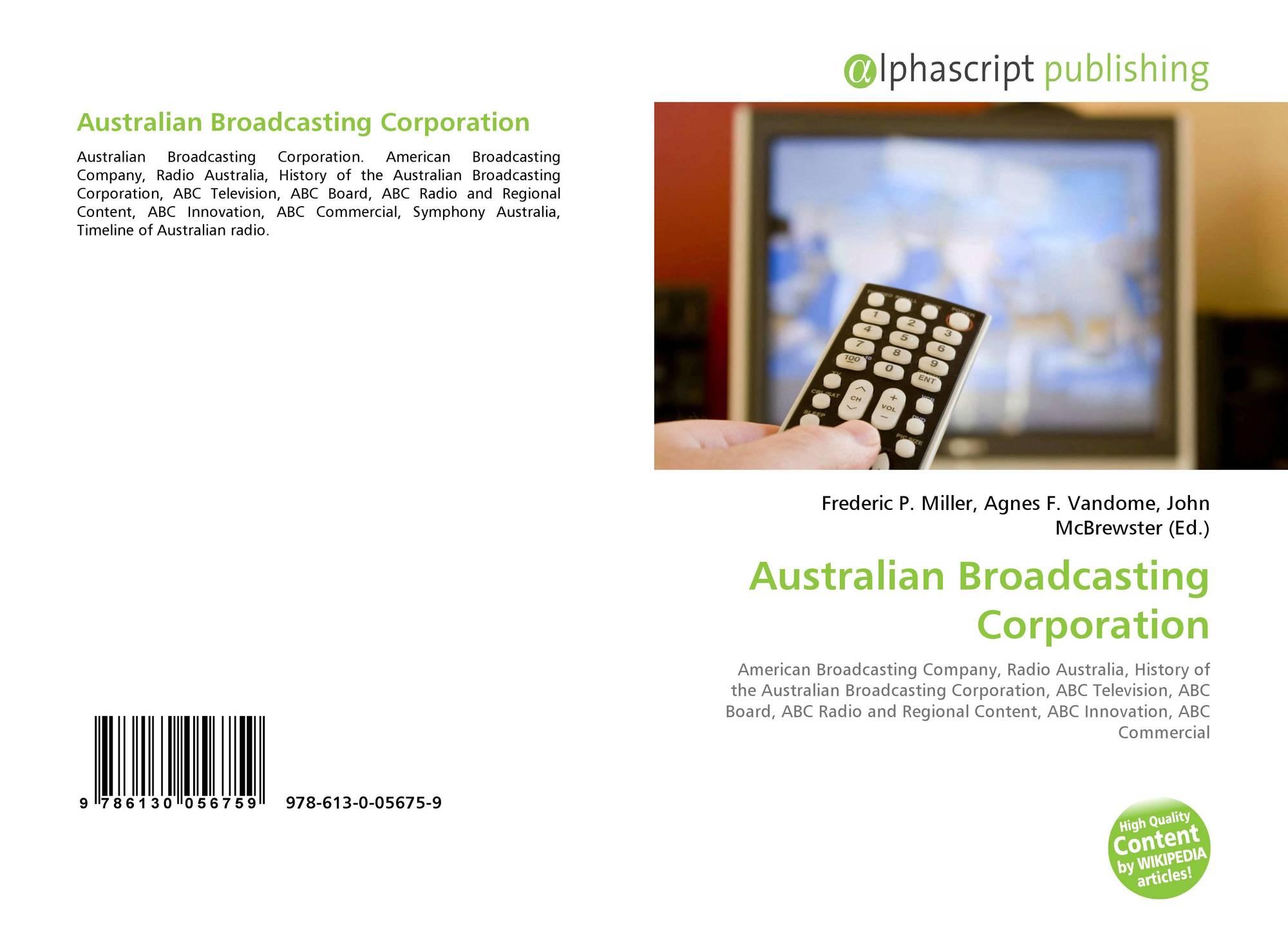 Australian Broadcasting Corporation, 978-613-0-05675-9, 6130056753