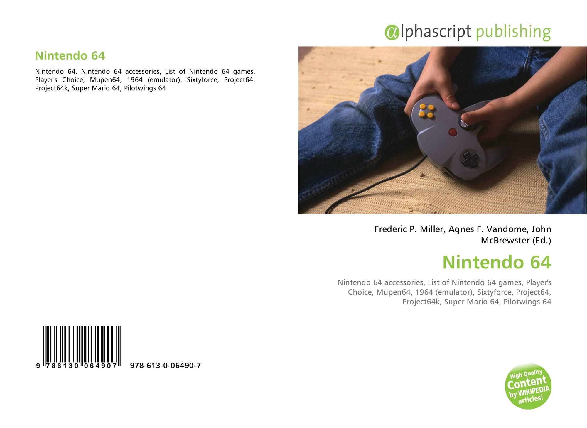 Nintendo 64, 978-613-0-06490-7, 613006490X ,9786130064907