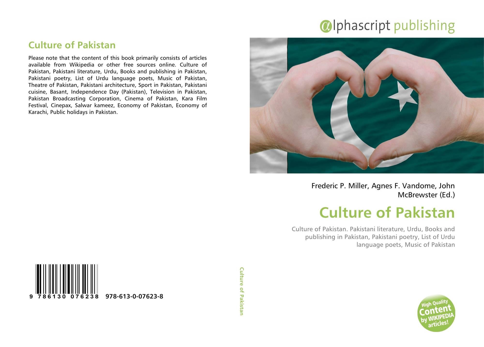 foto de Culture of Pakistan 978 613 0 07623 8 6130076231