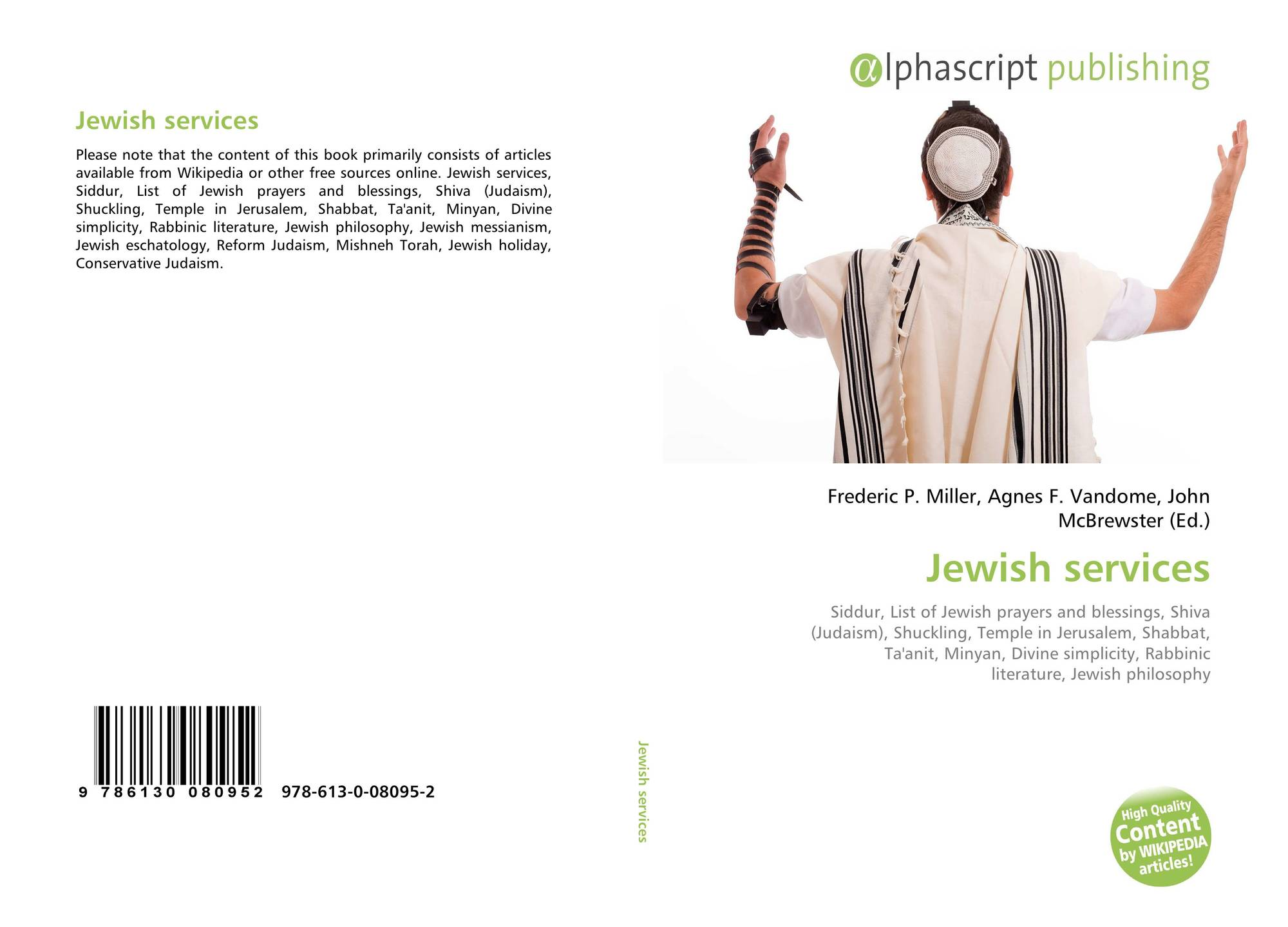 Jewish services, 978-613-0-08095-2, 6130080956 ,9786130080952