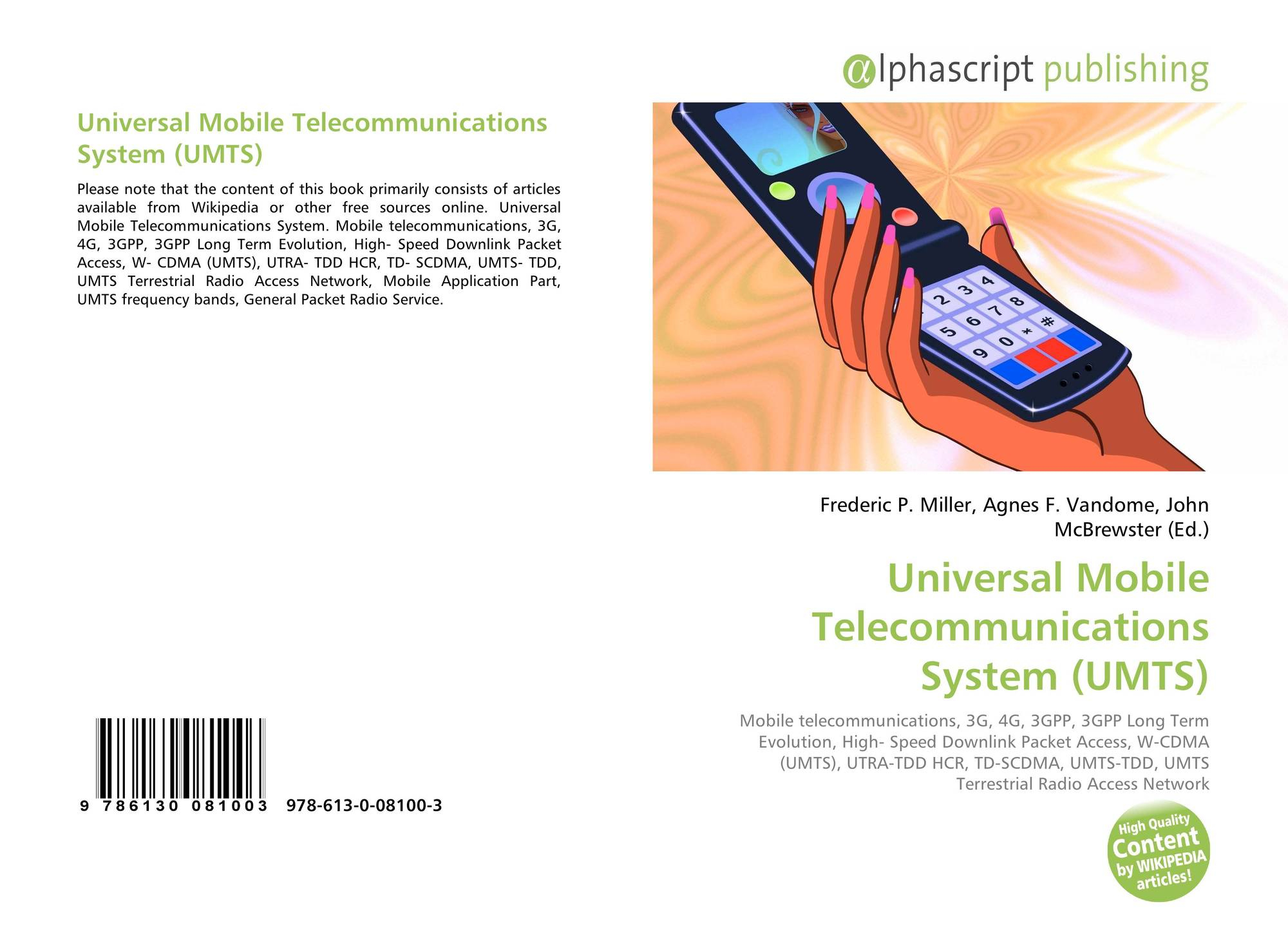 Universal Mobile Telecommunications System (UMTS), 978-613-0