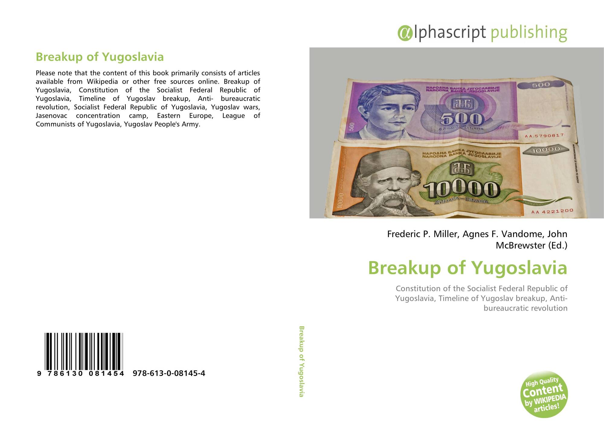 an analysis of the break up of yugoslavia