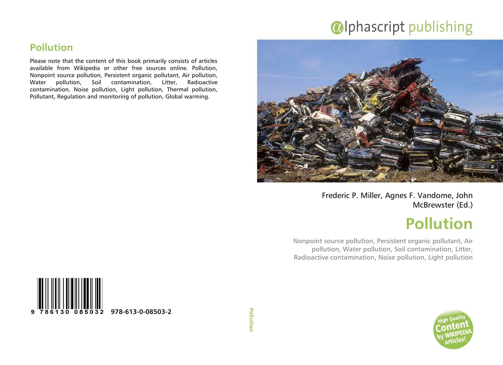 Pollution, 978-613-0-08503-2, 6130085036 ,9786130085032