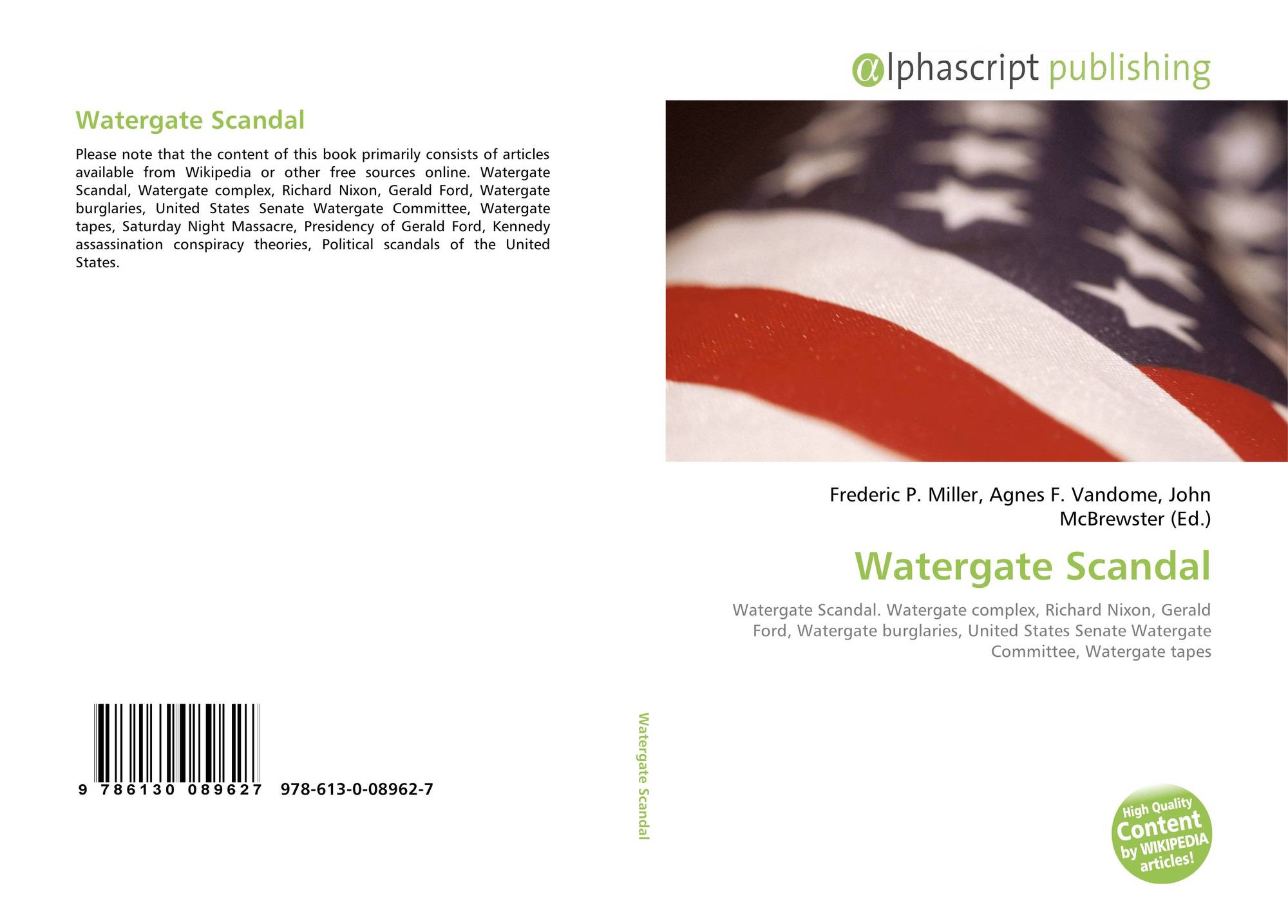 an introduction to the watergate scandal in the united states The watergate scandal essay examples 2129 words | 9 pages the watergate scandal introduction watergate was the name of the biggest political scandal in united states history.
