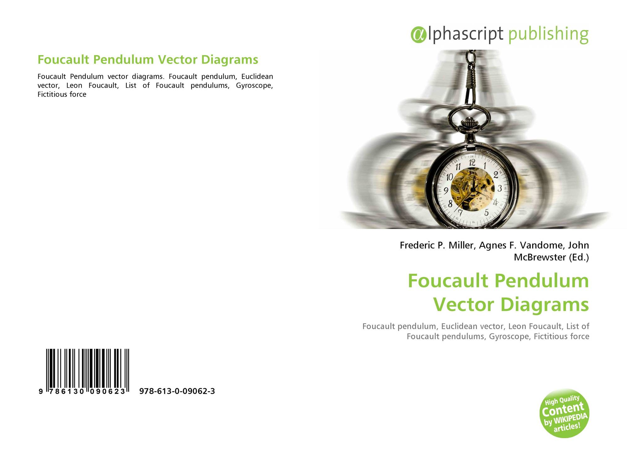 Foucault Pendulum Vector Diagrams 978 613 0 09062 3 6130090625 Force Bookcover Of 9786130090623