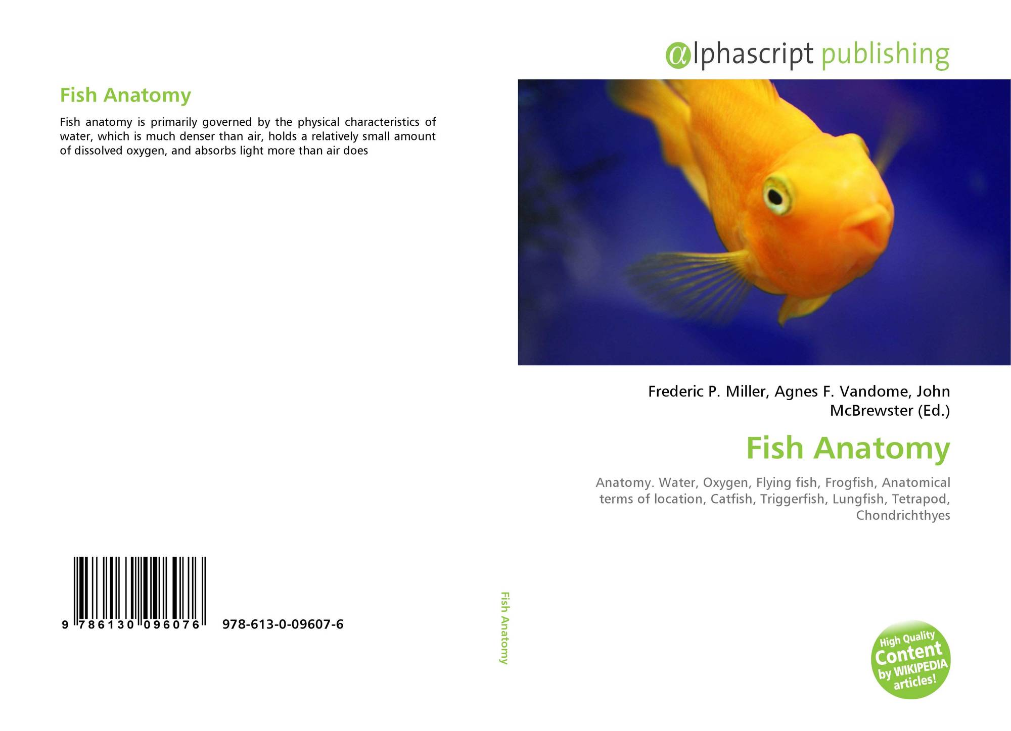 Fish Anatomy, 978-613-0-09607-6, 6130096070 ,9786130096076