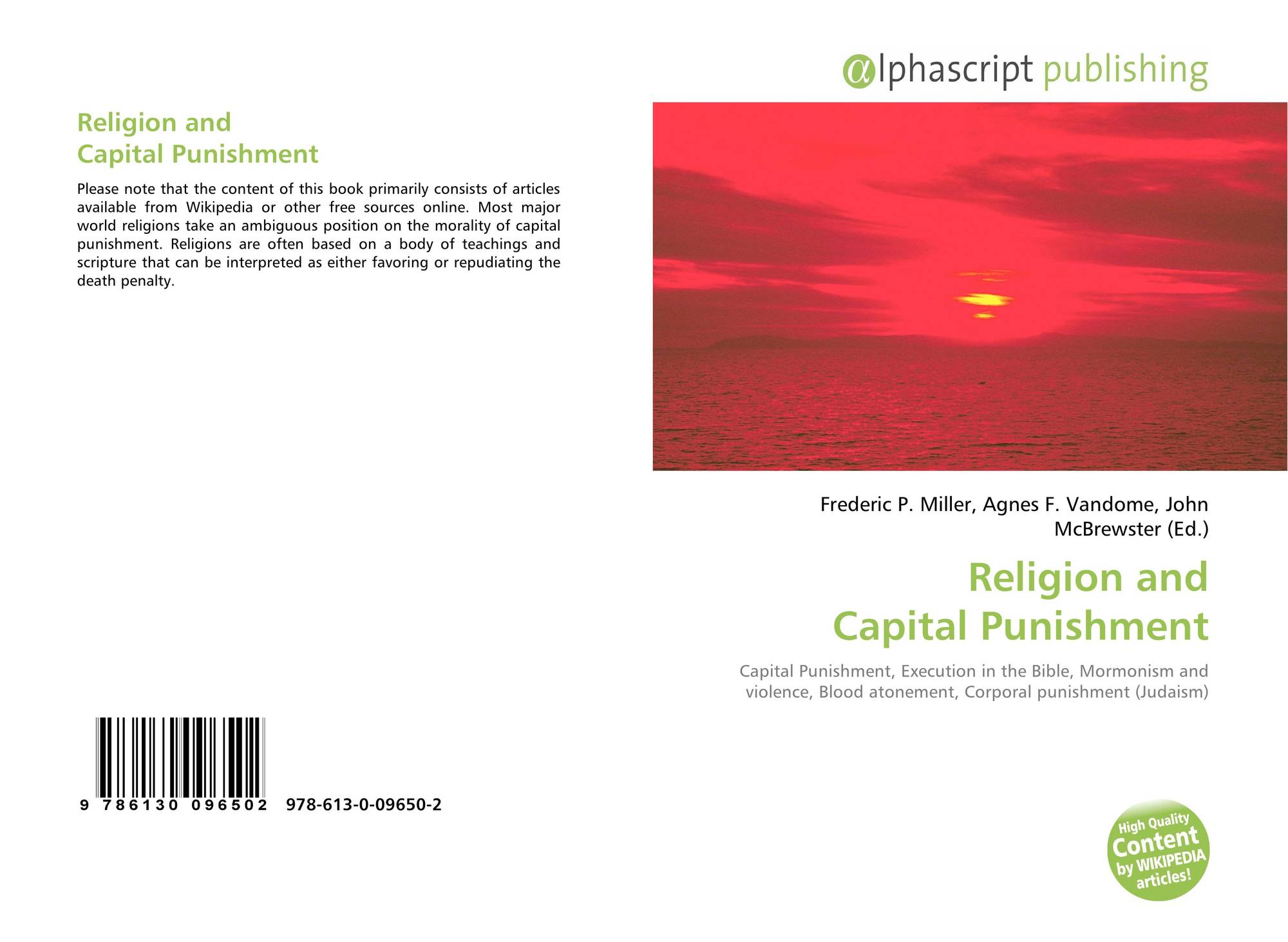 religion and capital punishment