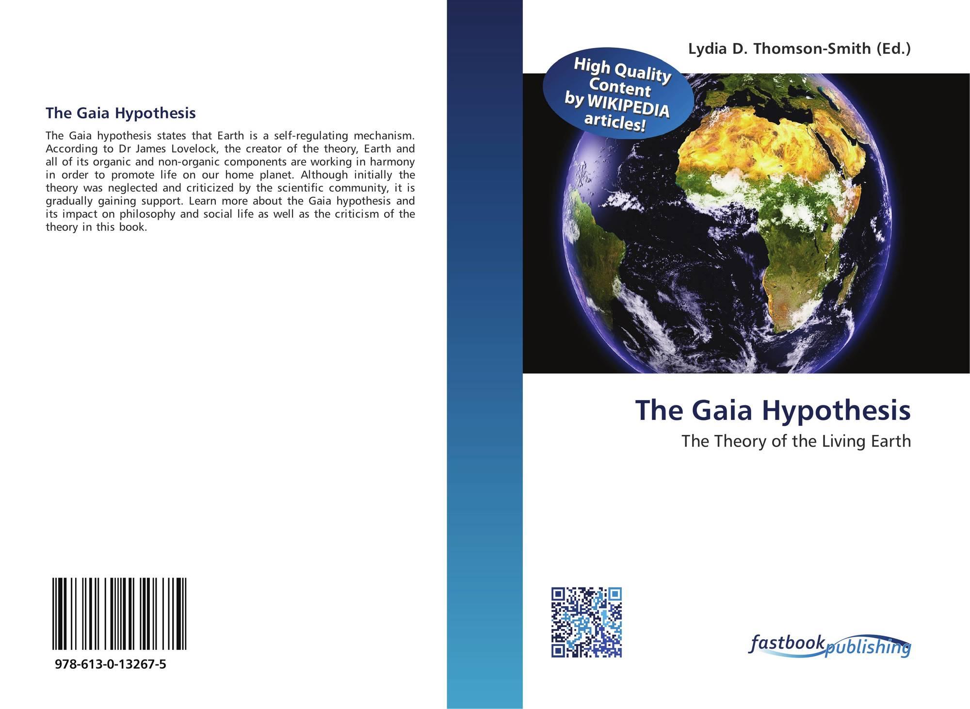 lovelocks gaia hypothesis essay