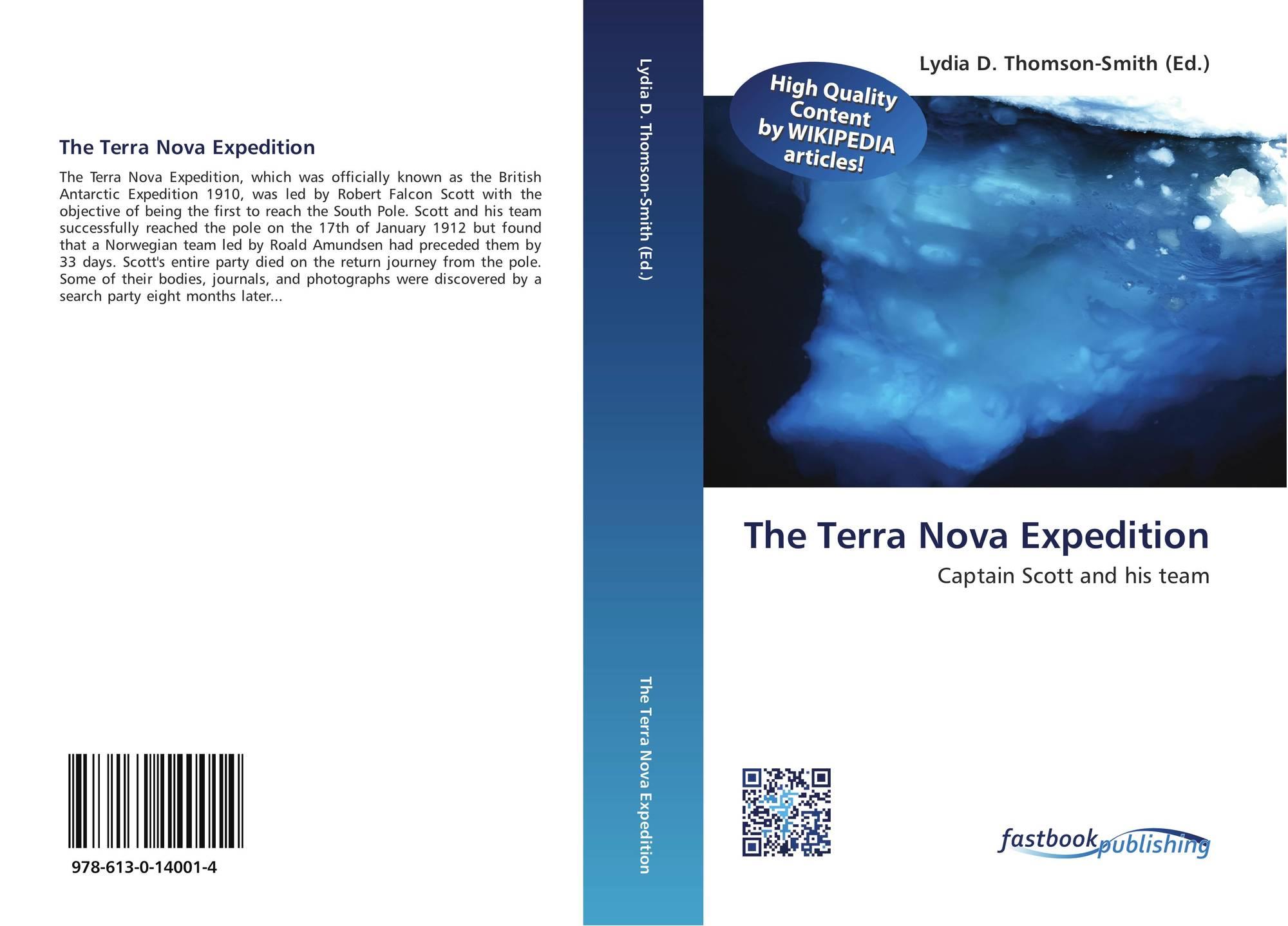 The Terra Nova Expedition, 978-613-0-14001-4, 6130140010
