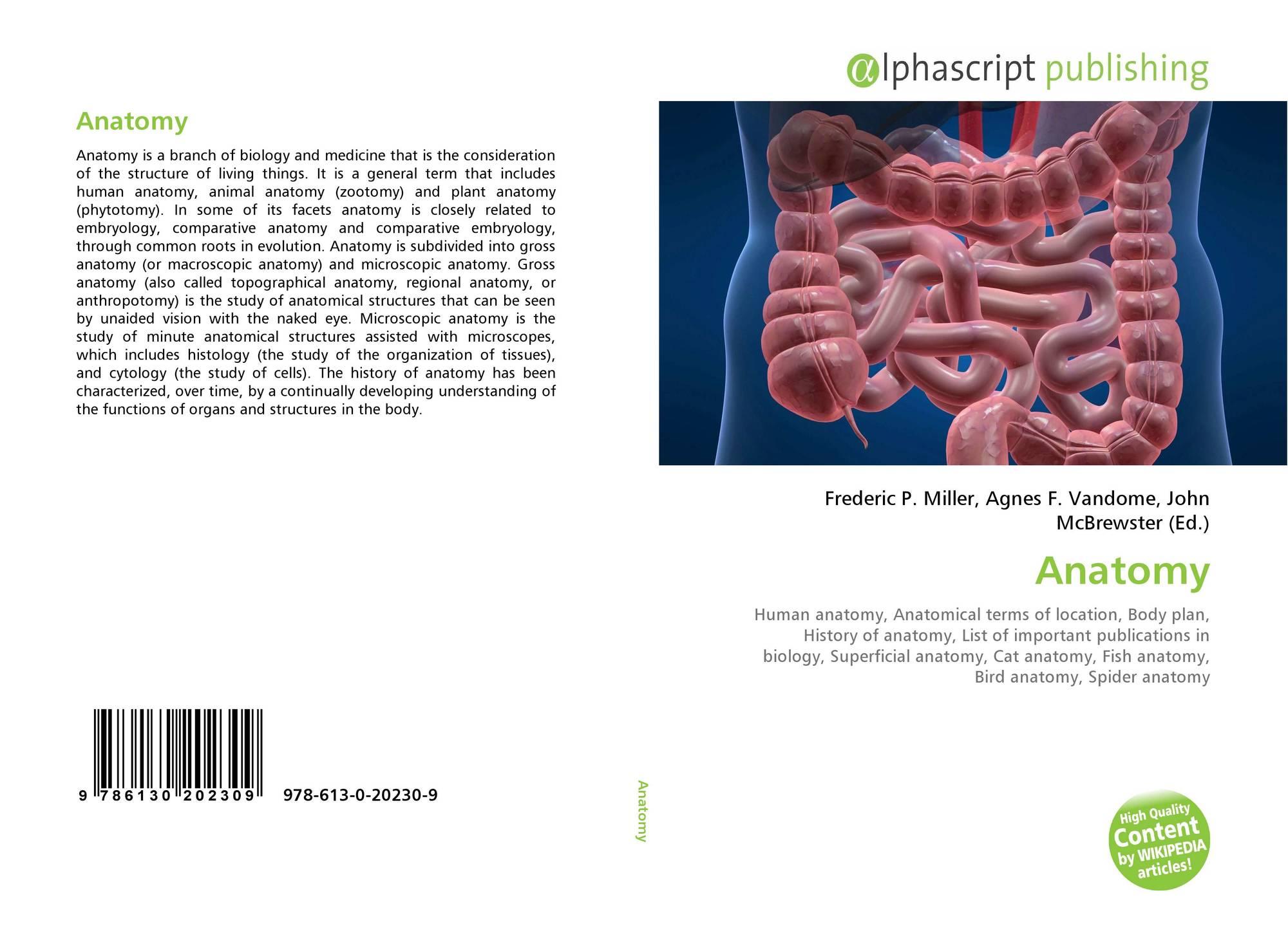 Anatomy, 978-613-0-20230-9, 613020230X ,9786130202309