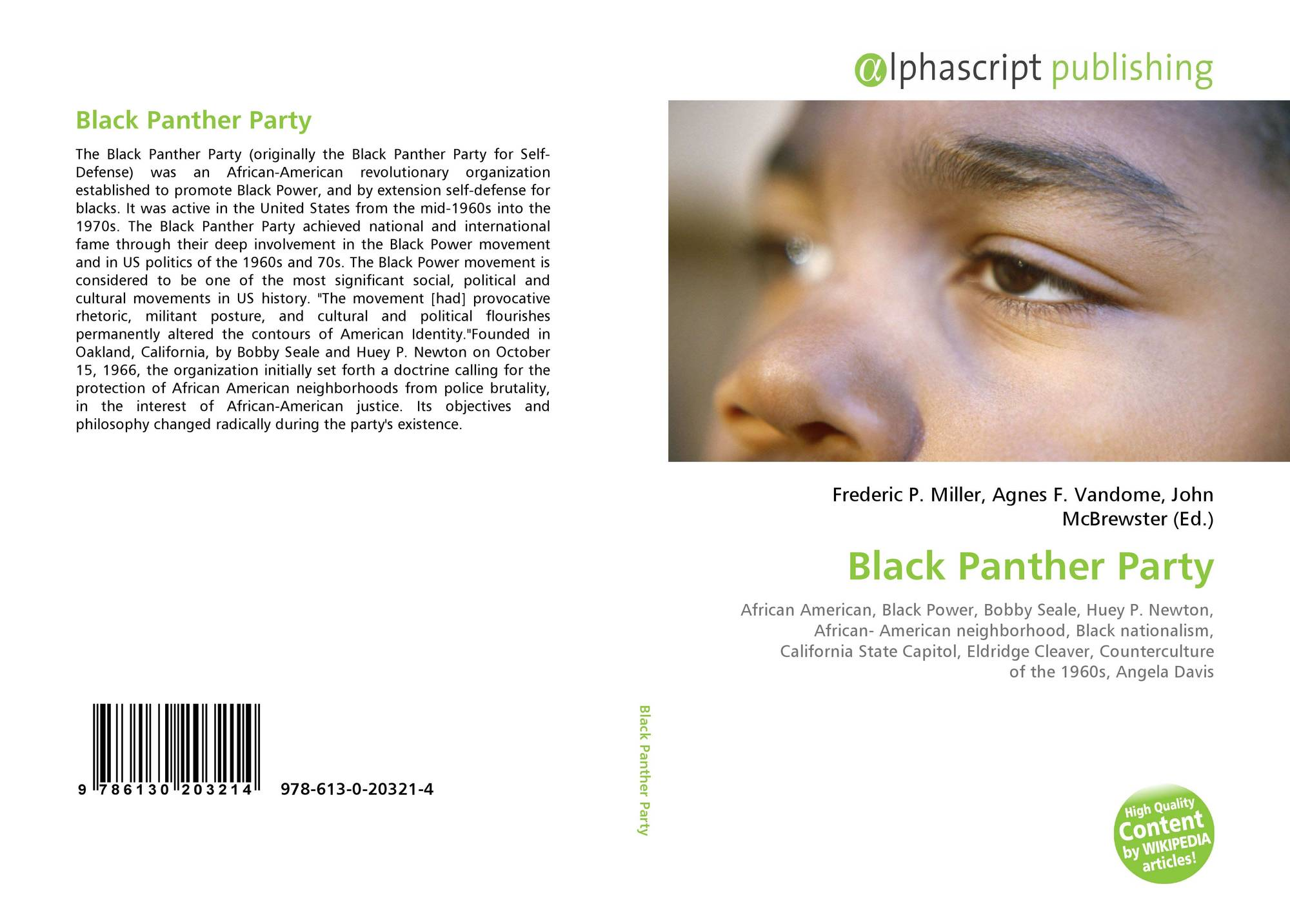 Black Panther Party, 978-613-0-20321-4, 6130203217