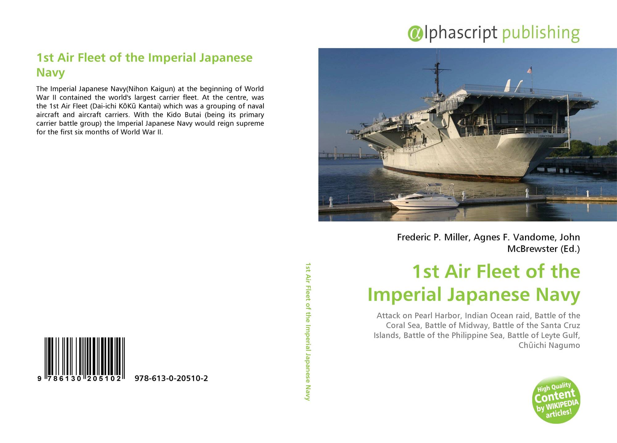1st Air Fleet of the Imperial Japanese Navy, 978-613-0-20510