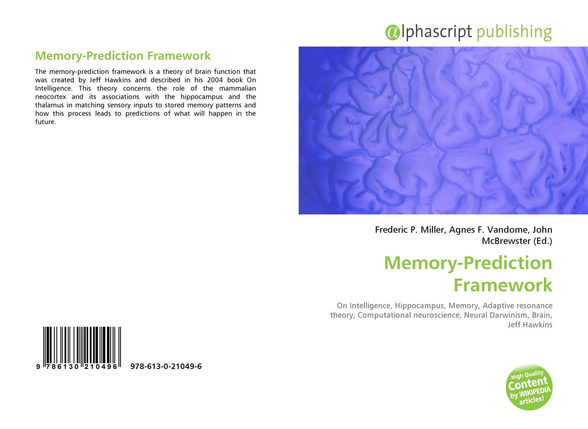 Memory-Prediction Framework, 978-613-0-21049-6, 6130210493