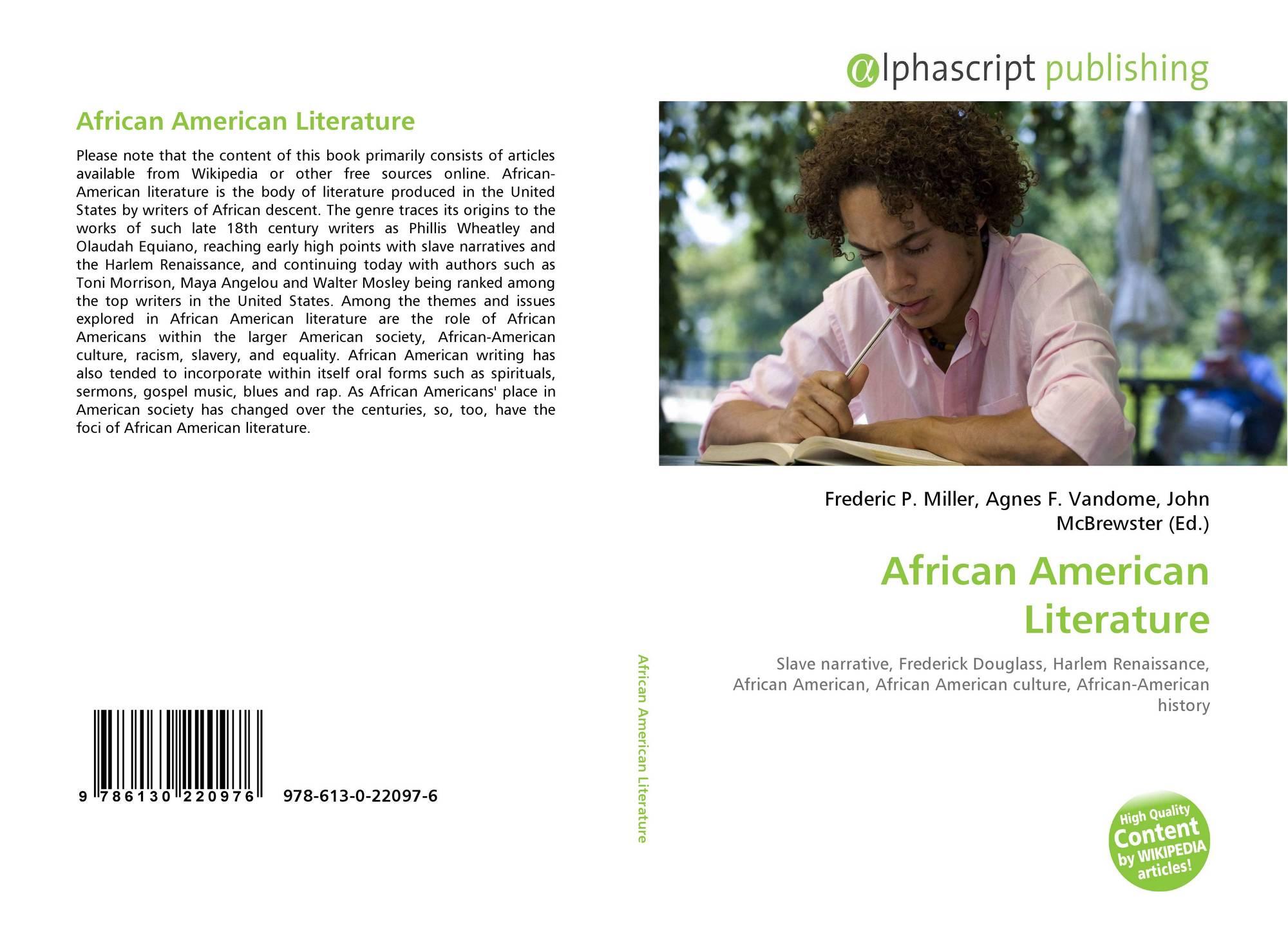 African American Literature, 978-613-0-22097-6, 6130220979