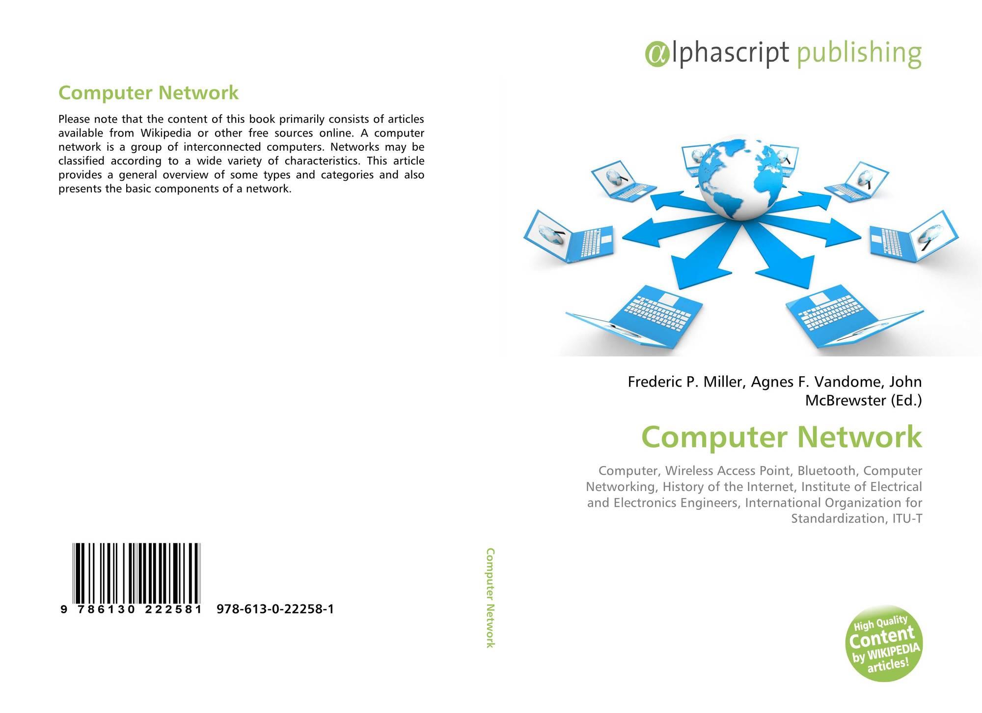 Computer Network, 978-613-0-22258-1, 6130222580 ,9786130222581