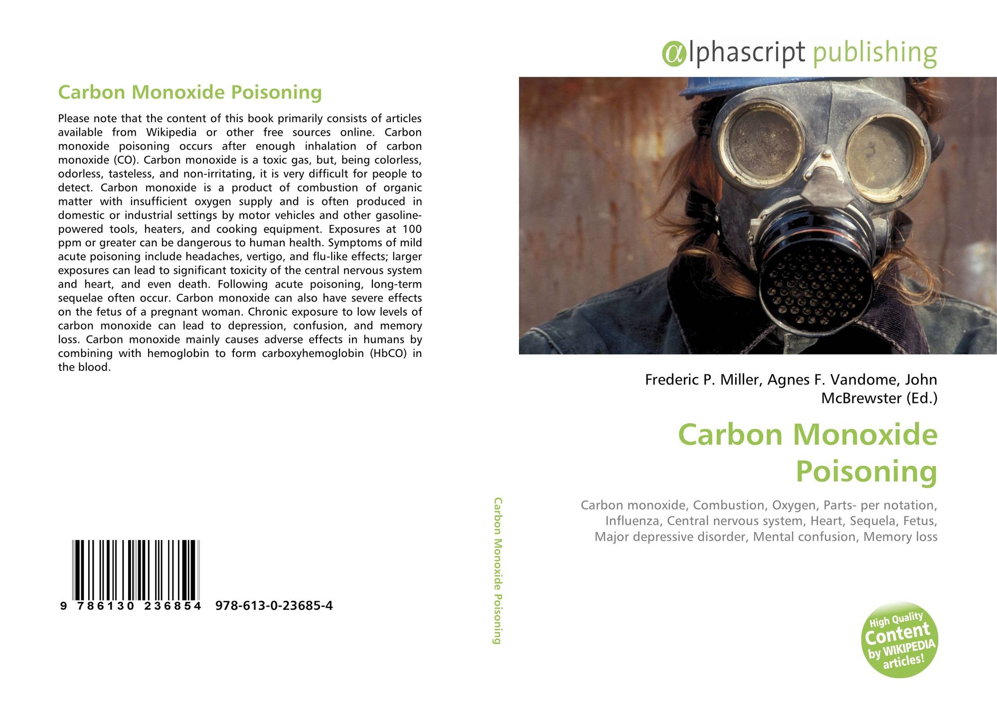 an analysis of carbon monoxide poisoning