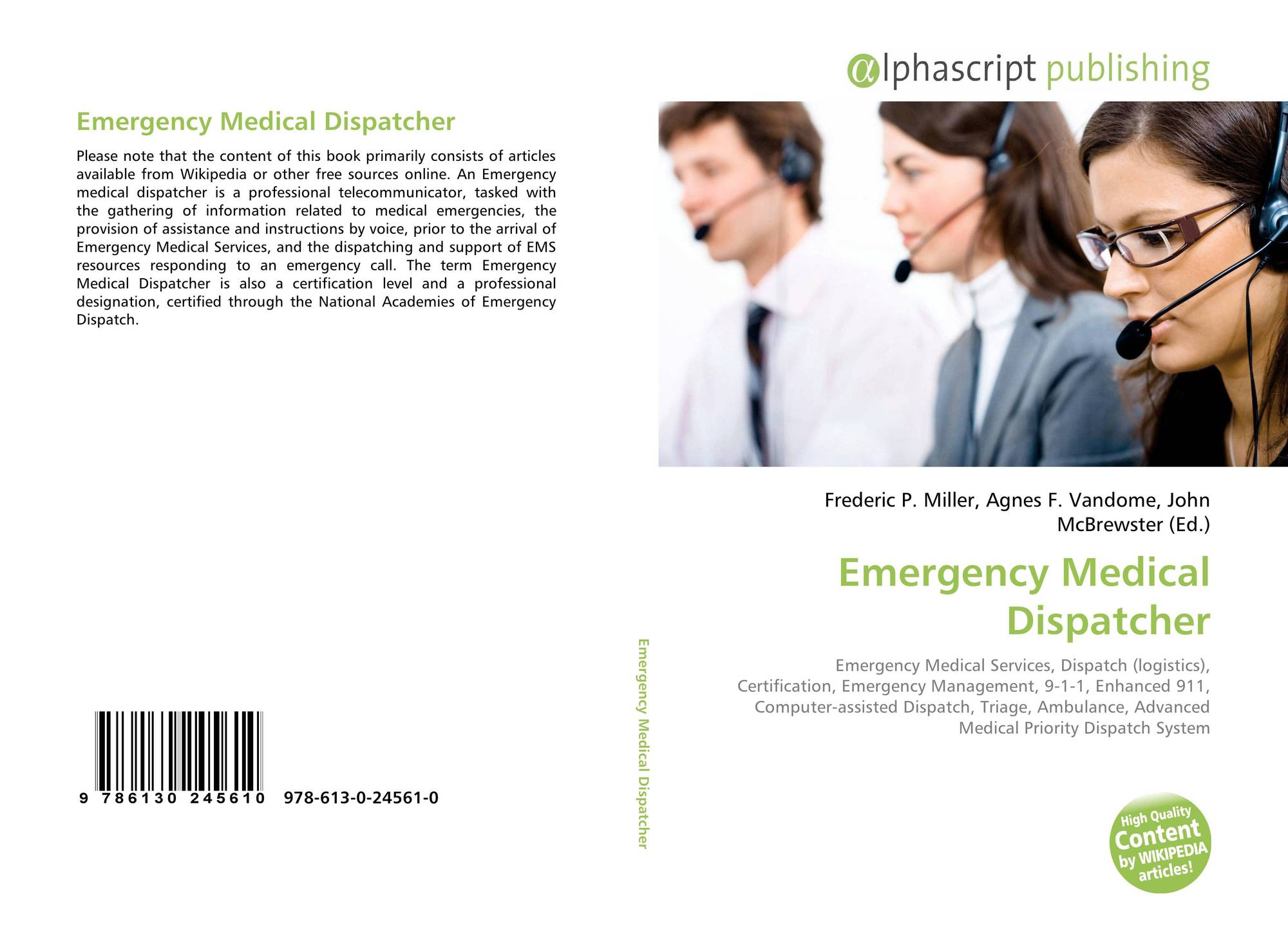 Search results for dispatcher bookcover of emergency medical dispatcher 1betcityfo Gallery
