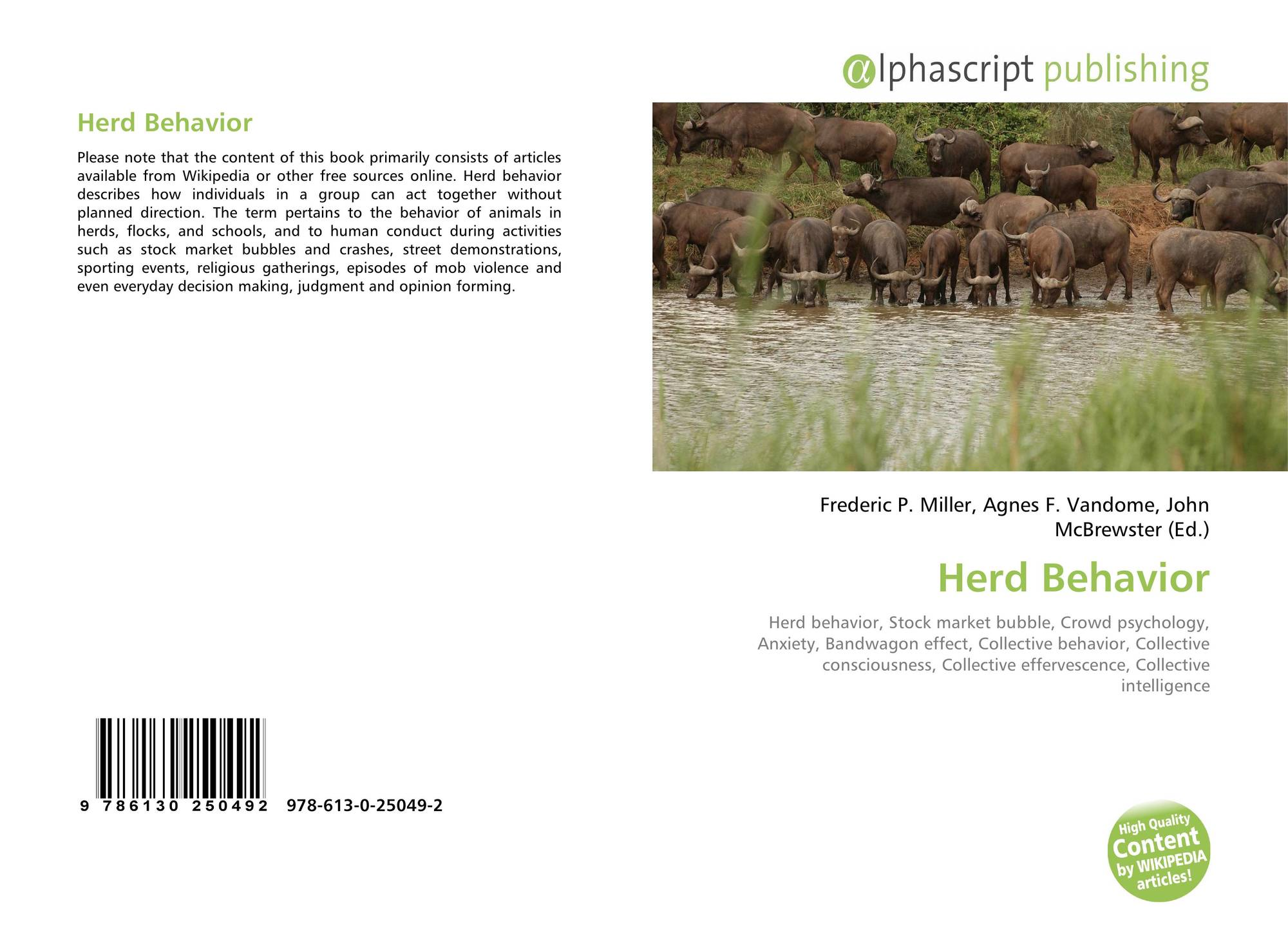 herd behaviour and the housing bubble and collapse Case incident # 2: herd behavior and the housing bubble (and collapse) 1) some research suggests herd behavior increases as the size of the group increases why do you think this might be the case.