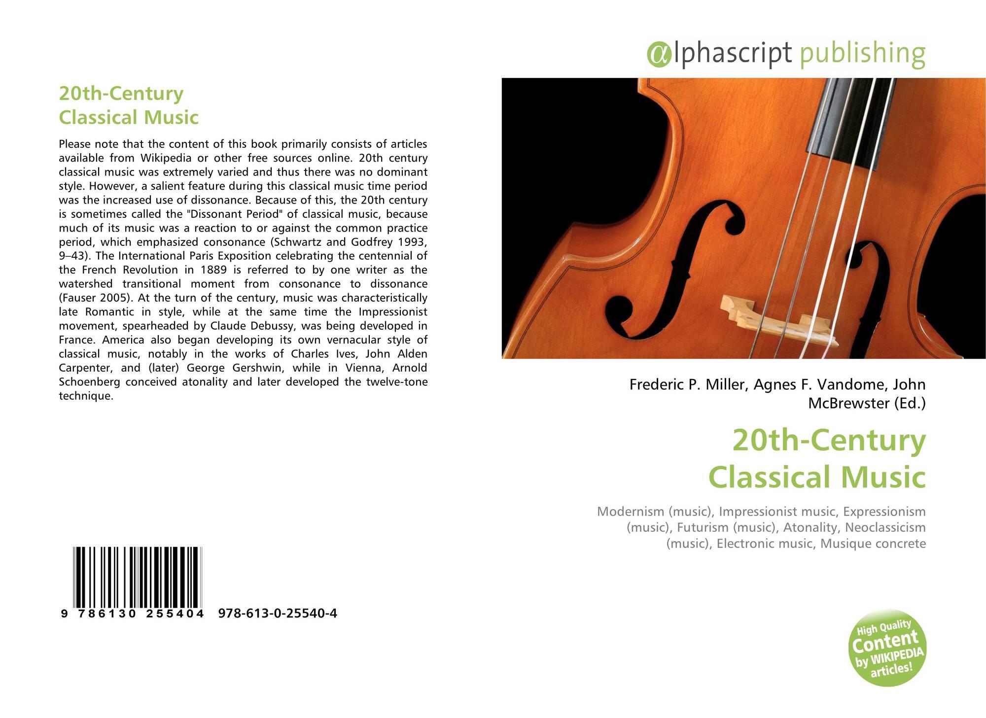 20th-Century Classical Music, ...