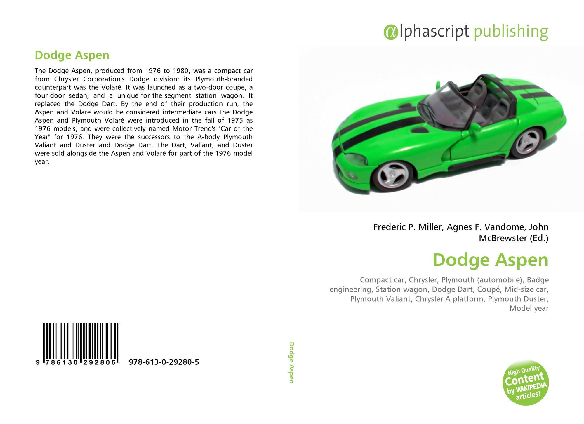 Dodge Aspen Wiki