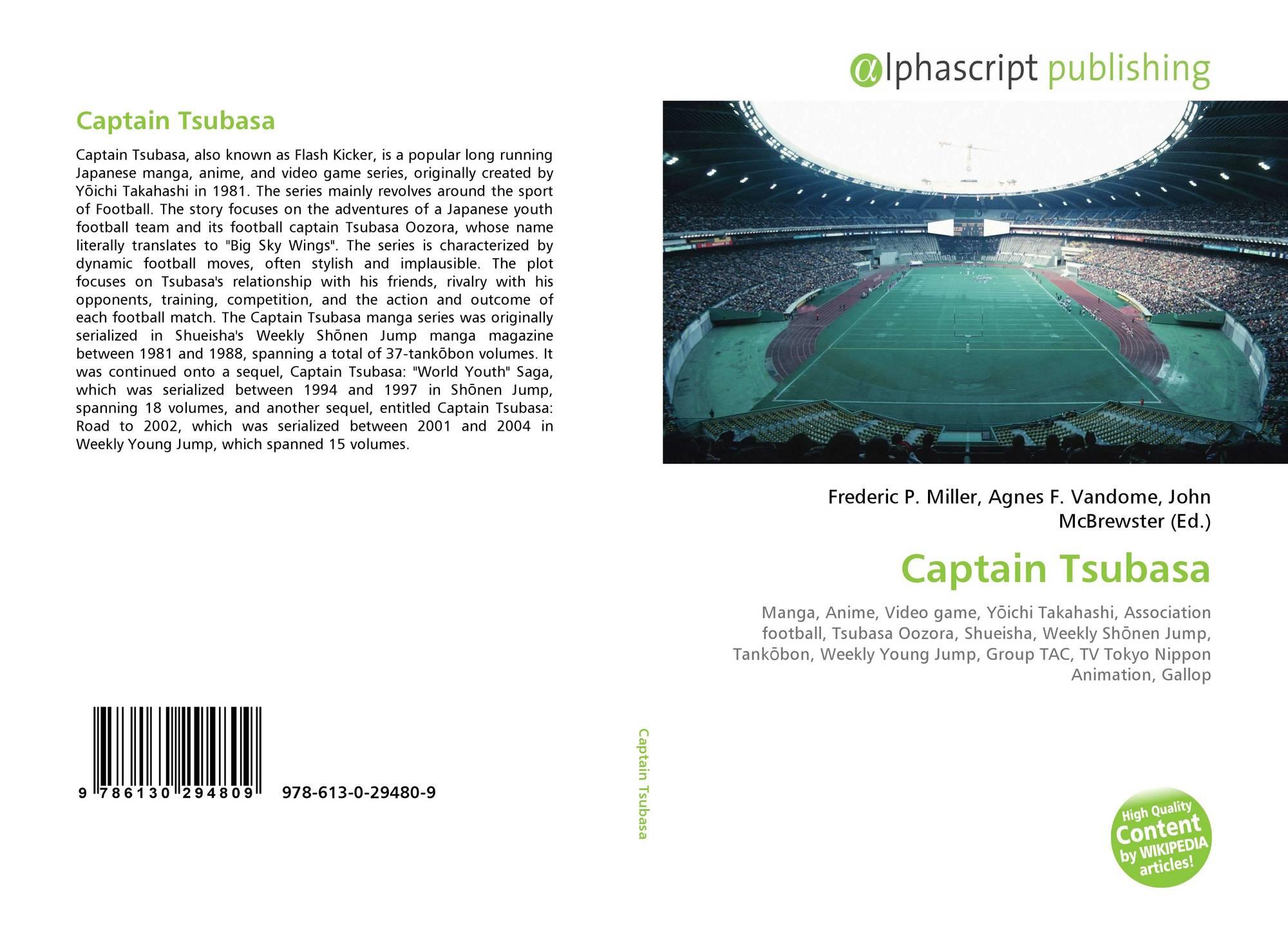 Captain Tsubasa, 978-613-0-29480-9, 6130294808 ,9786130294809