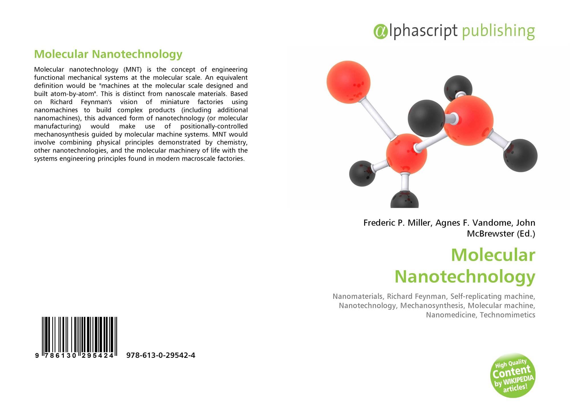 Molecular Nanotechnology, 978-613-0-29542-4, 6130295421