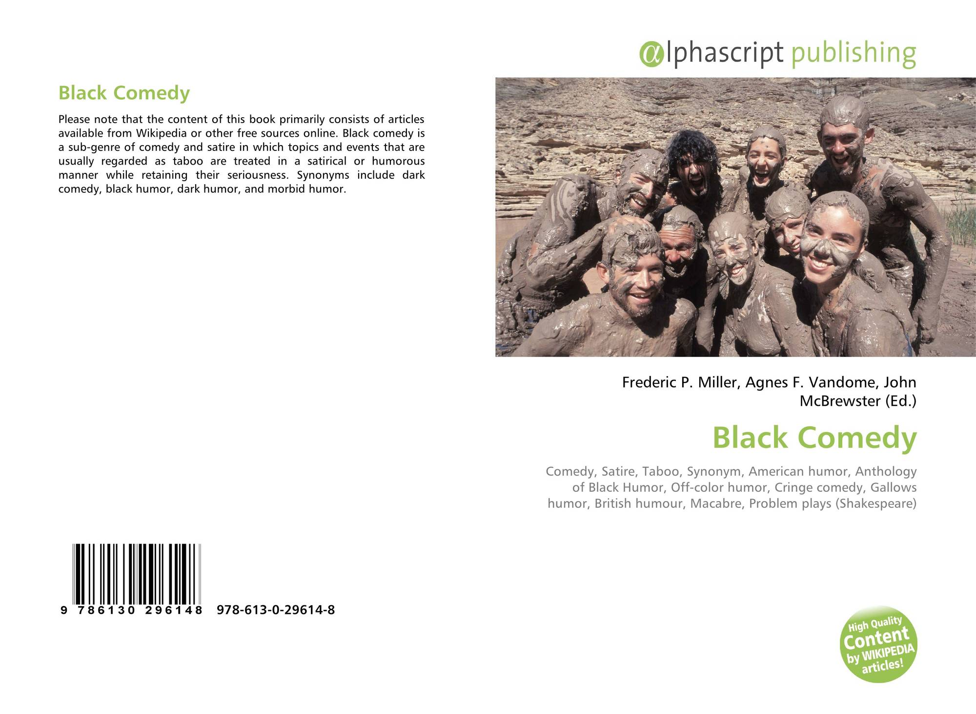 Black Comedy 978 613 0 29614 8 6130296142 9786130296148