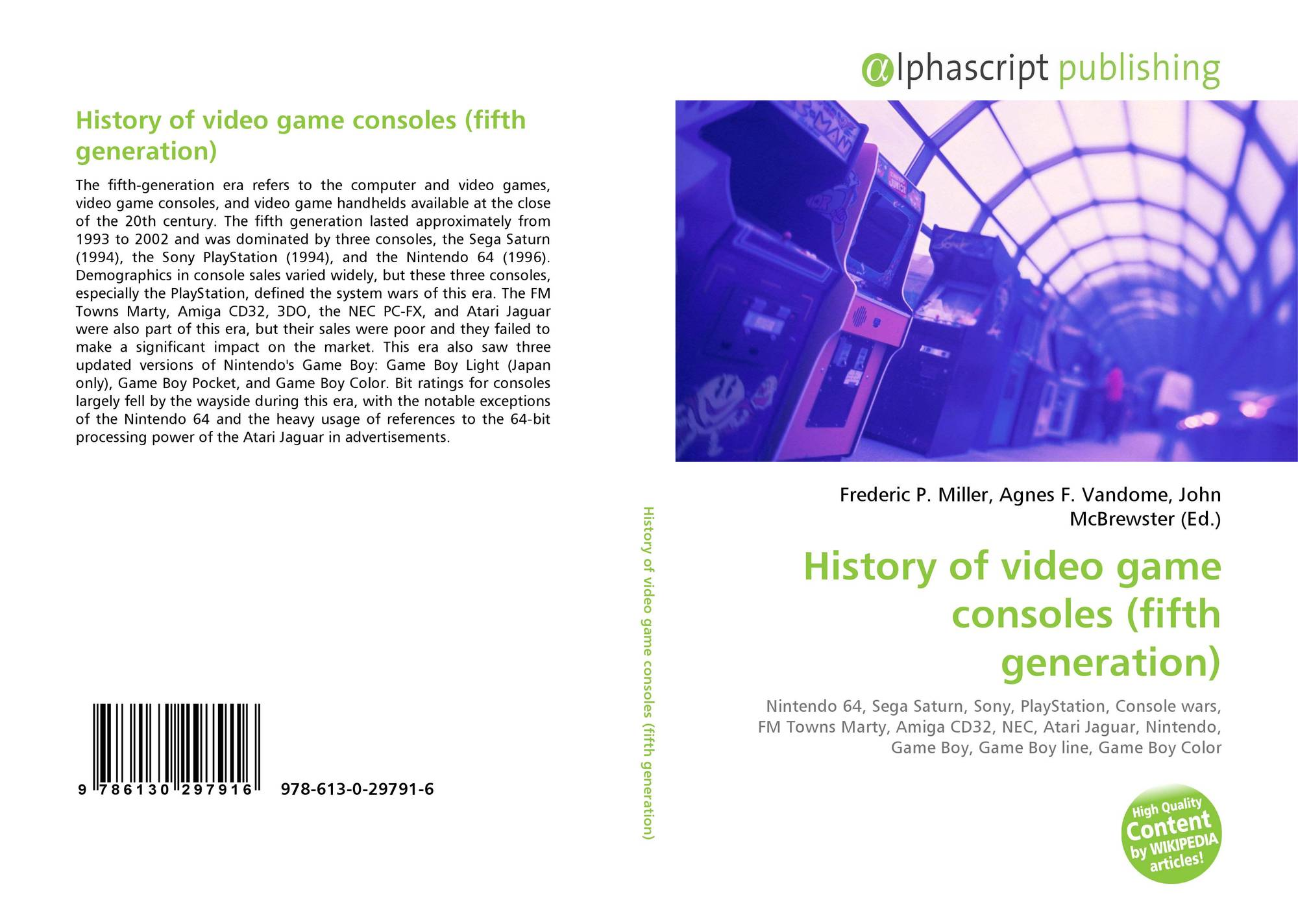 History of video game consoles (fifth generation), 978-613-0-29791-6