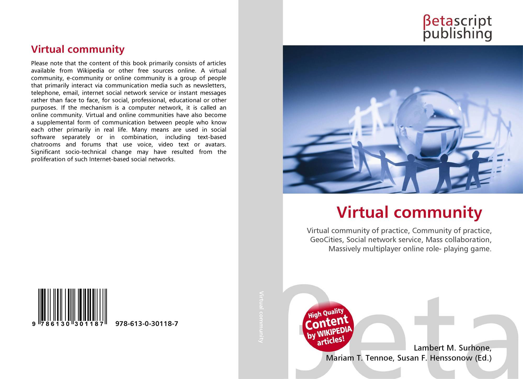 a review of the publication the virtual community How do virtual community members develop psychological ownership and what are the effects of psychological research - peer-review 21_publication in refereed.