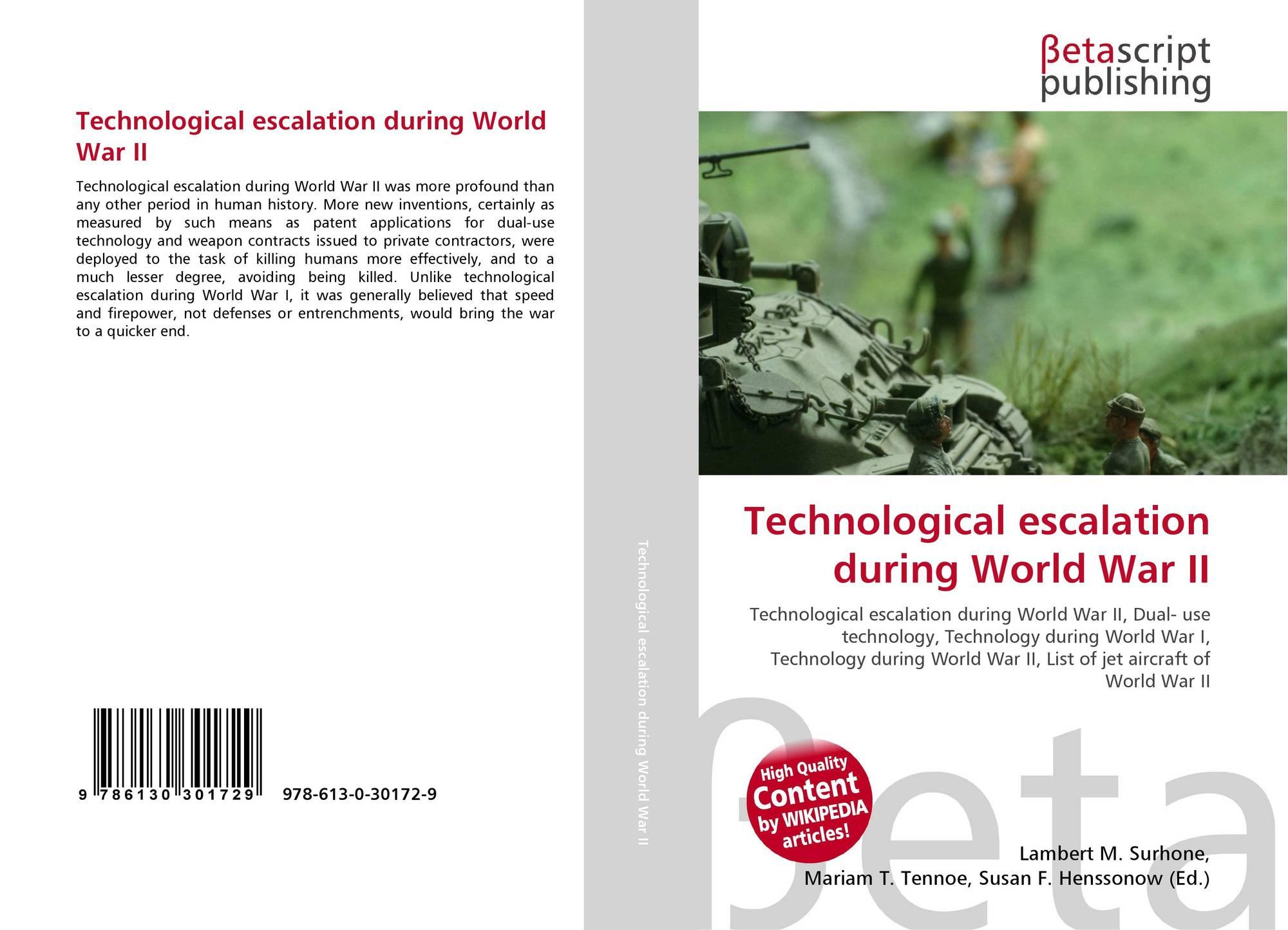 Technological escalation