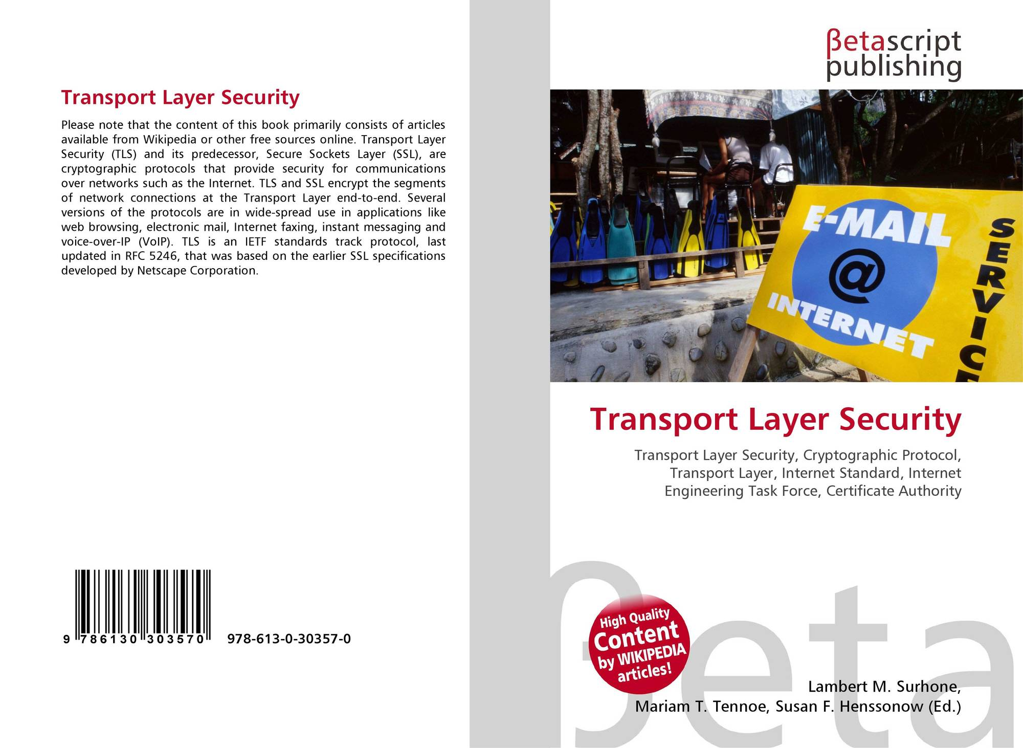 transport layer security essay This document covers two processes necessary for remote connectivity to your workstation remotely 1 certificate installation - also includes instructions.