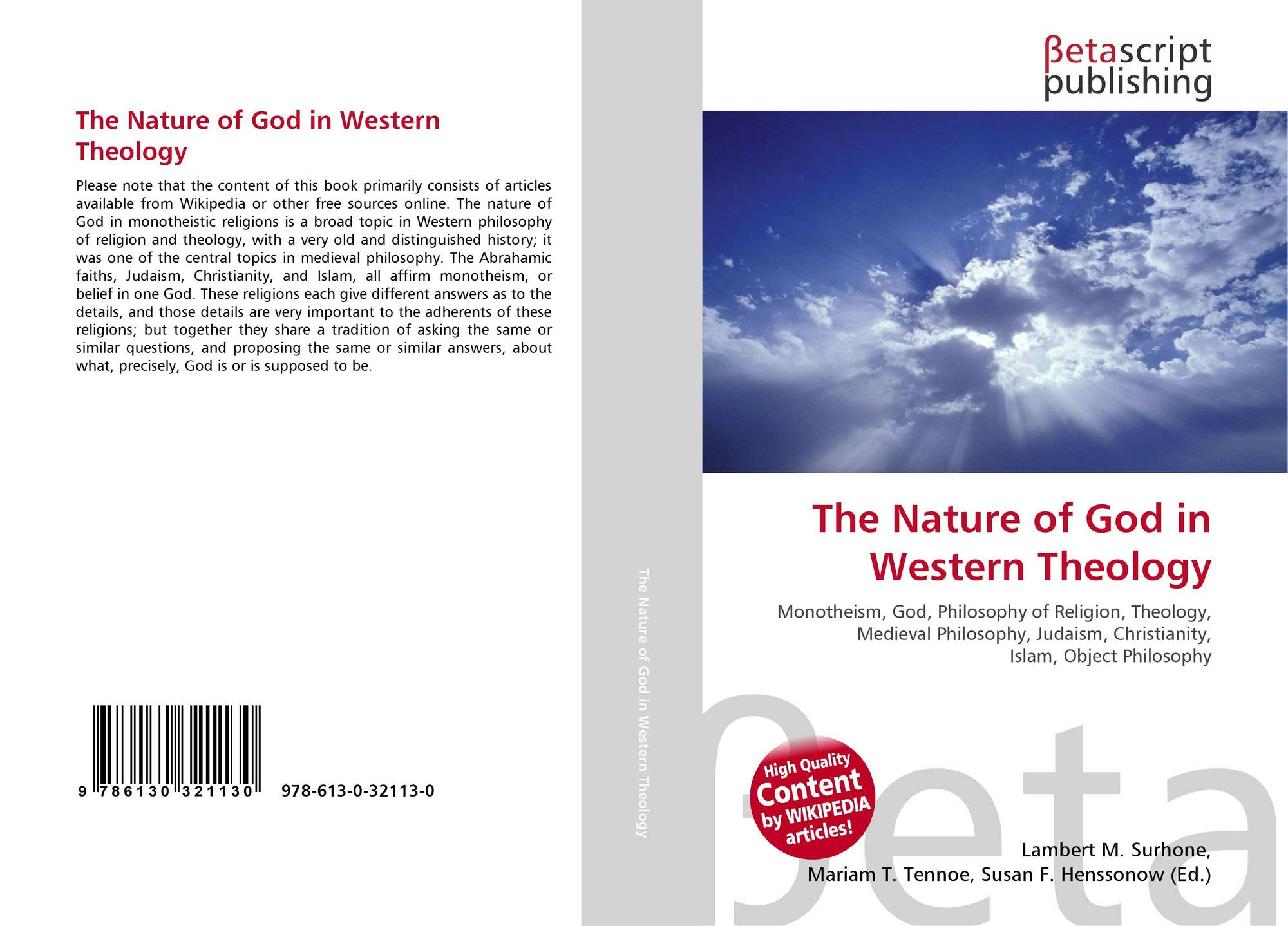 an analysis of the nature of god in christianity God's 'nature' means his characteristics, his attributes, his qualities i read somewhere that man can't really know anything about the nature of god among others, smith, george h atheism: the case against god.
