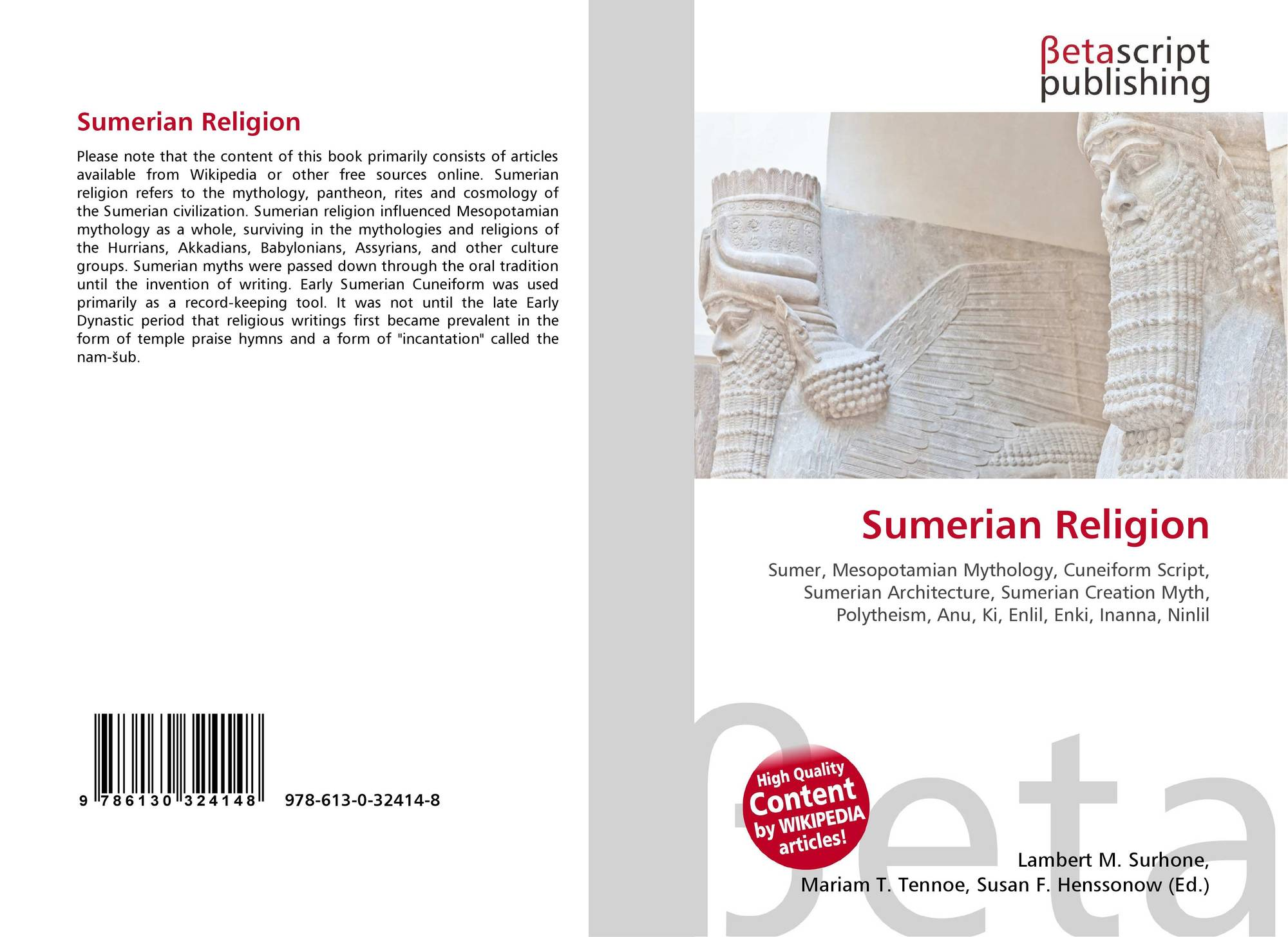 sumerian religion Sumerian religion the sumerian religion and its pantheon is the oldest in recorded history this page is dedicated to the original religion - its history, development and rituals.
