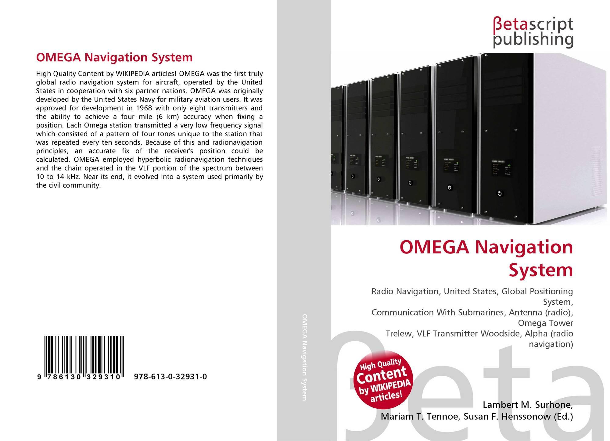 OMEGA Navigation System, 978-613-0-32931-0, 6130329318 ,9786130329310