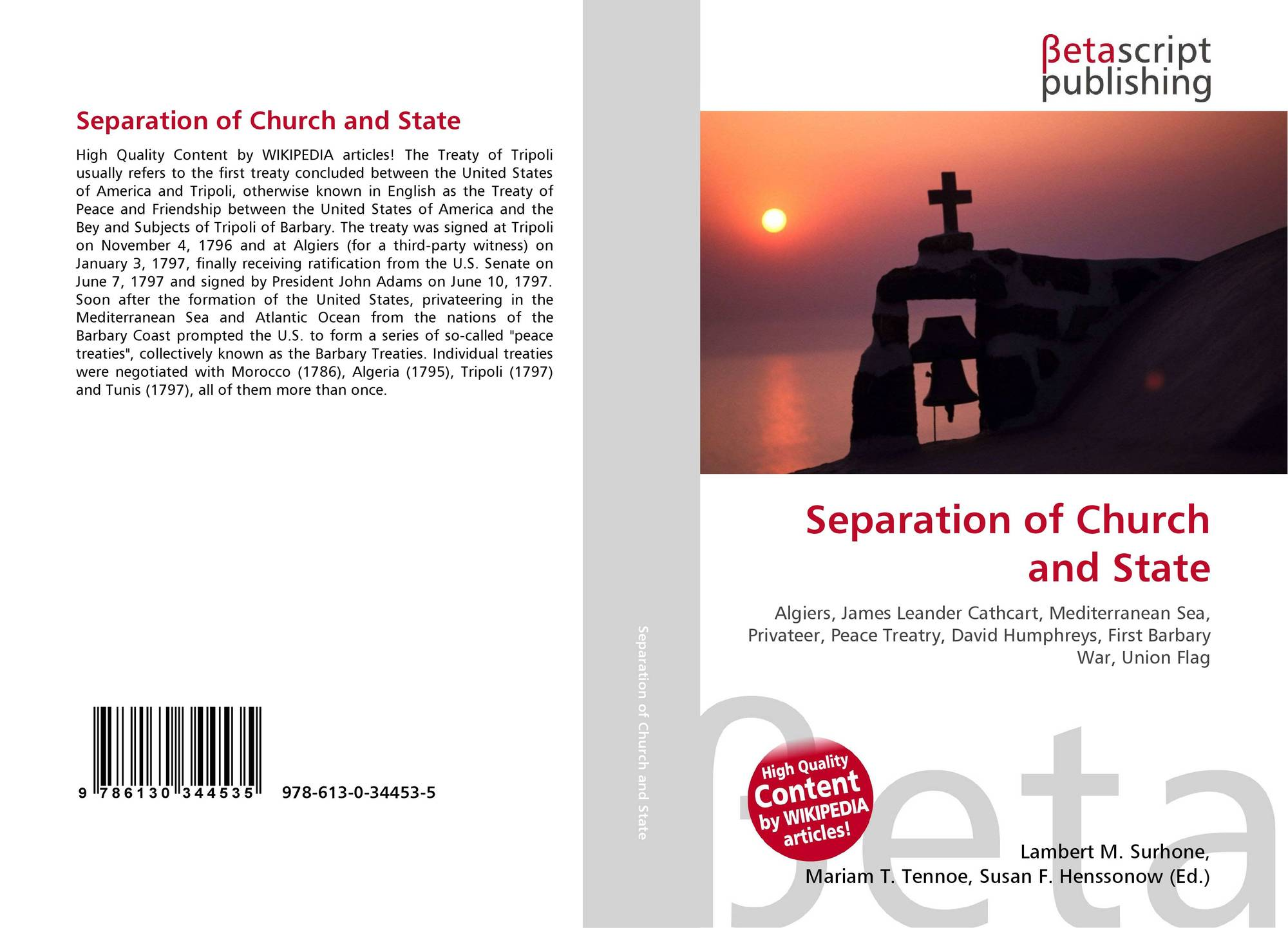 an analysis of separation of church and state in united states