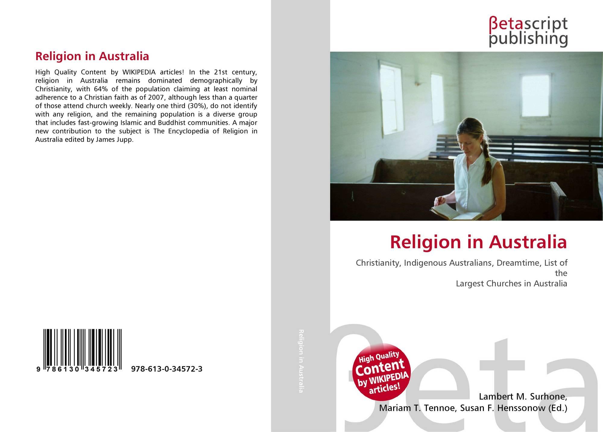 Religion in Australia, 978-613-0-34572-3, 6130345720