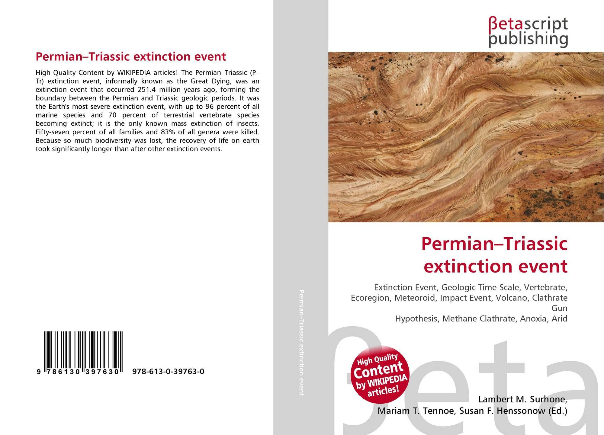 Permian–Triassic extinction event, 978-613-0-39763-0