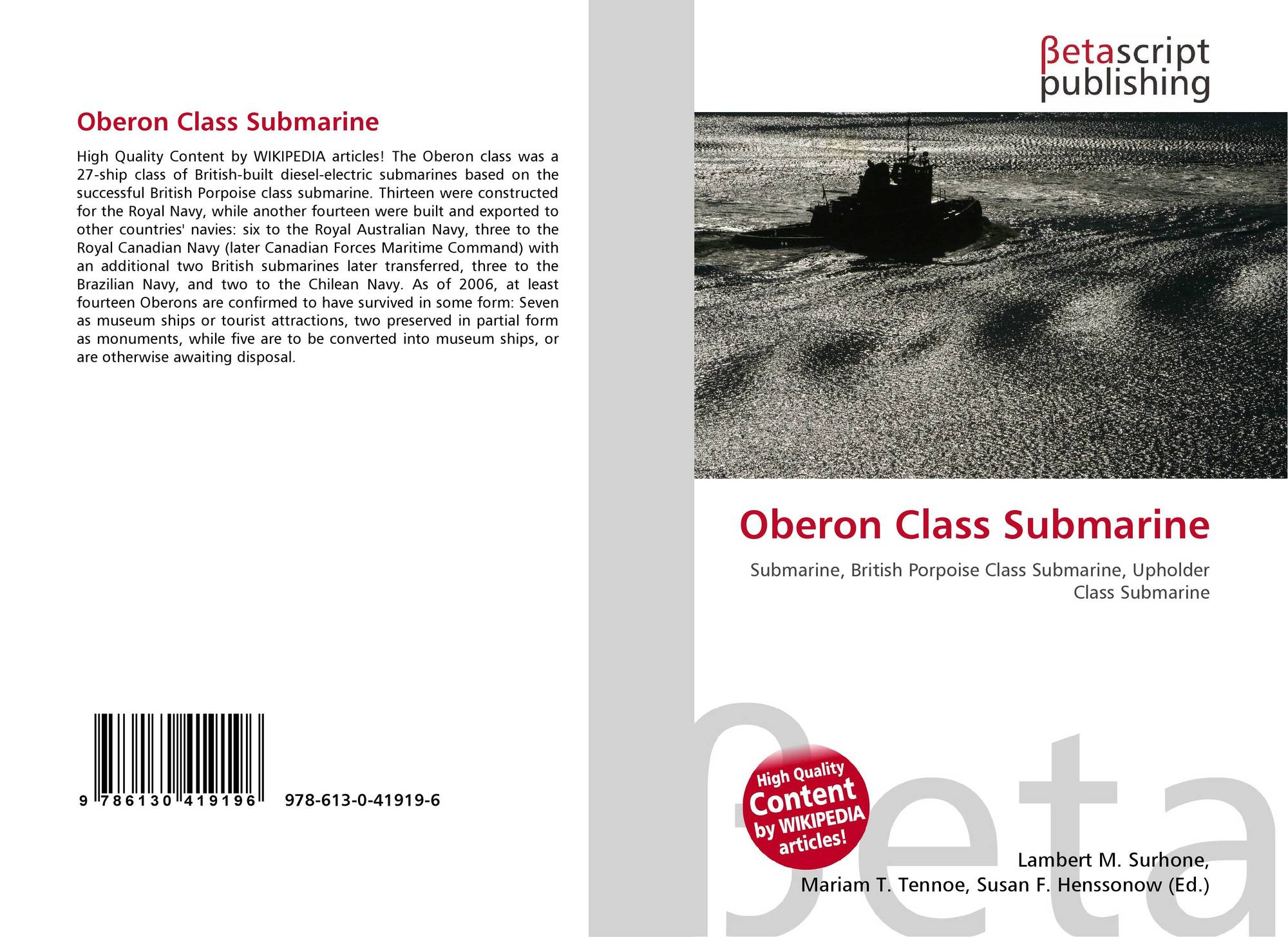 Search Results For Oberon Class Submarine Wire Diagram Bookcover Of